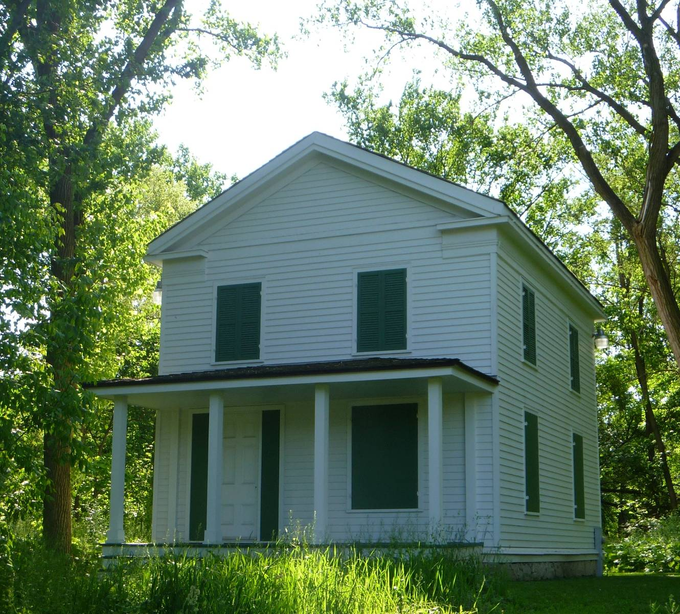 Ben Fuller Farmhouse c 1840Forest Preserve District of DuPage County