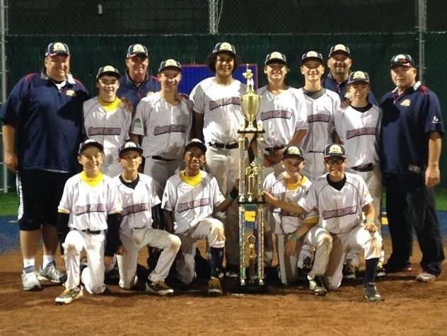 The Lake County Lightning Under-12 baseball team won the Cooperstown All Star Village tournament, which was held July 12-18. Tryouts for the 2015 Lake County Lightning season will take place at Carmel Catholic High School Aug. 2 and 9.
