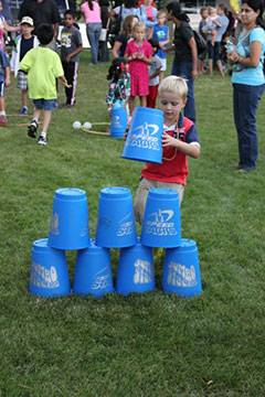 Children participate in exciting carnival games.Schaumburg Park District