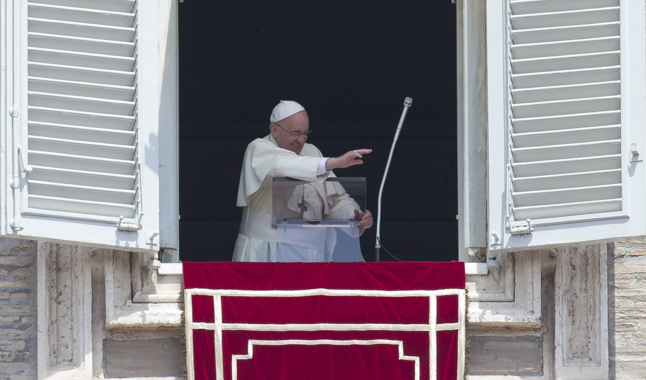 Pope Francis may undertake his first trip to the U.S. next year to attend the World Meeting of Families scheduled to take place in Philadelphia in September 2015.