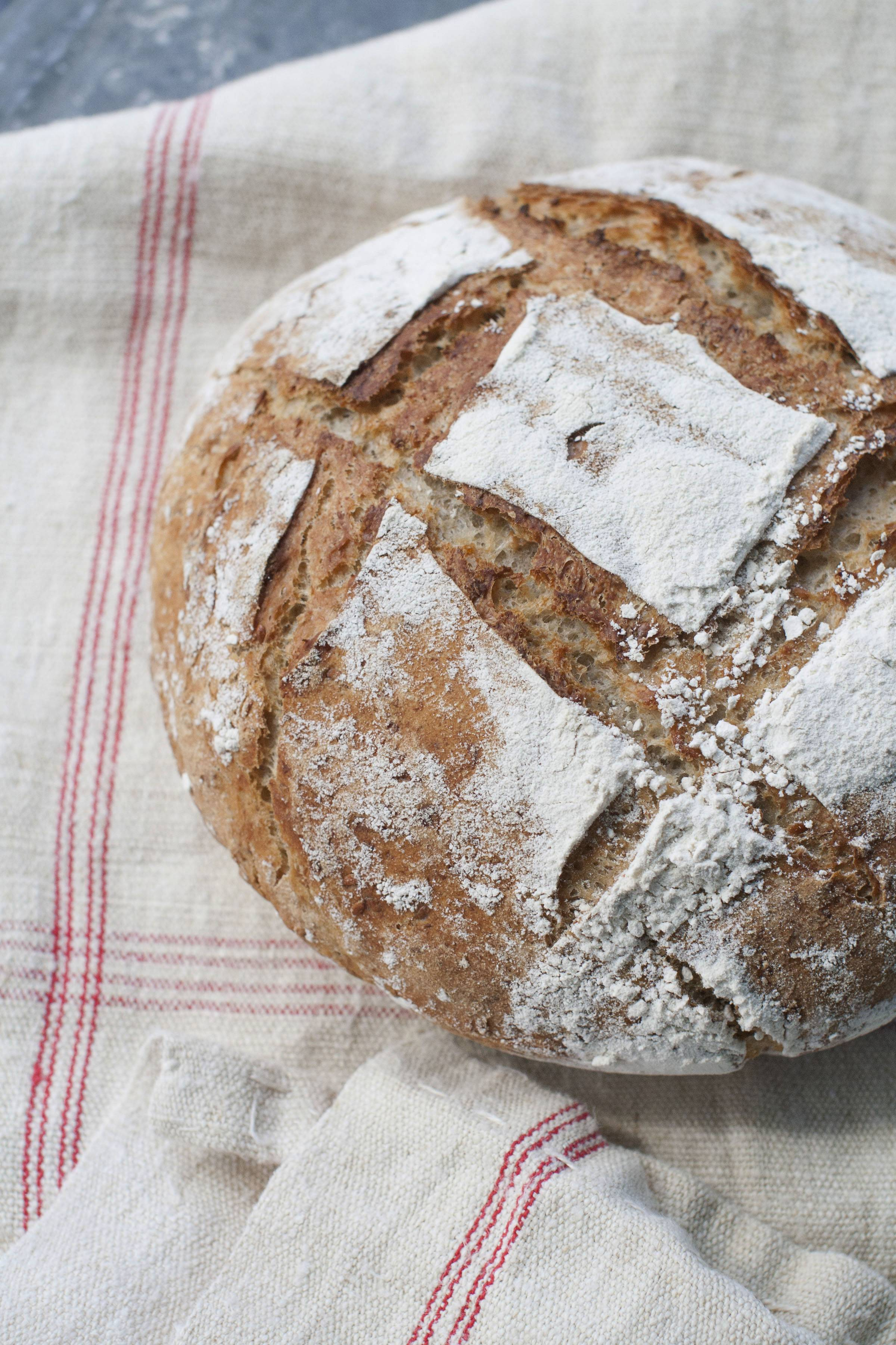 Artisanal quality bread is possible at home with a double Dutch oven.