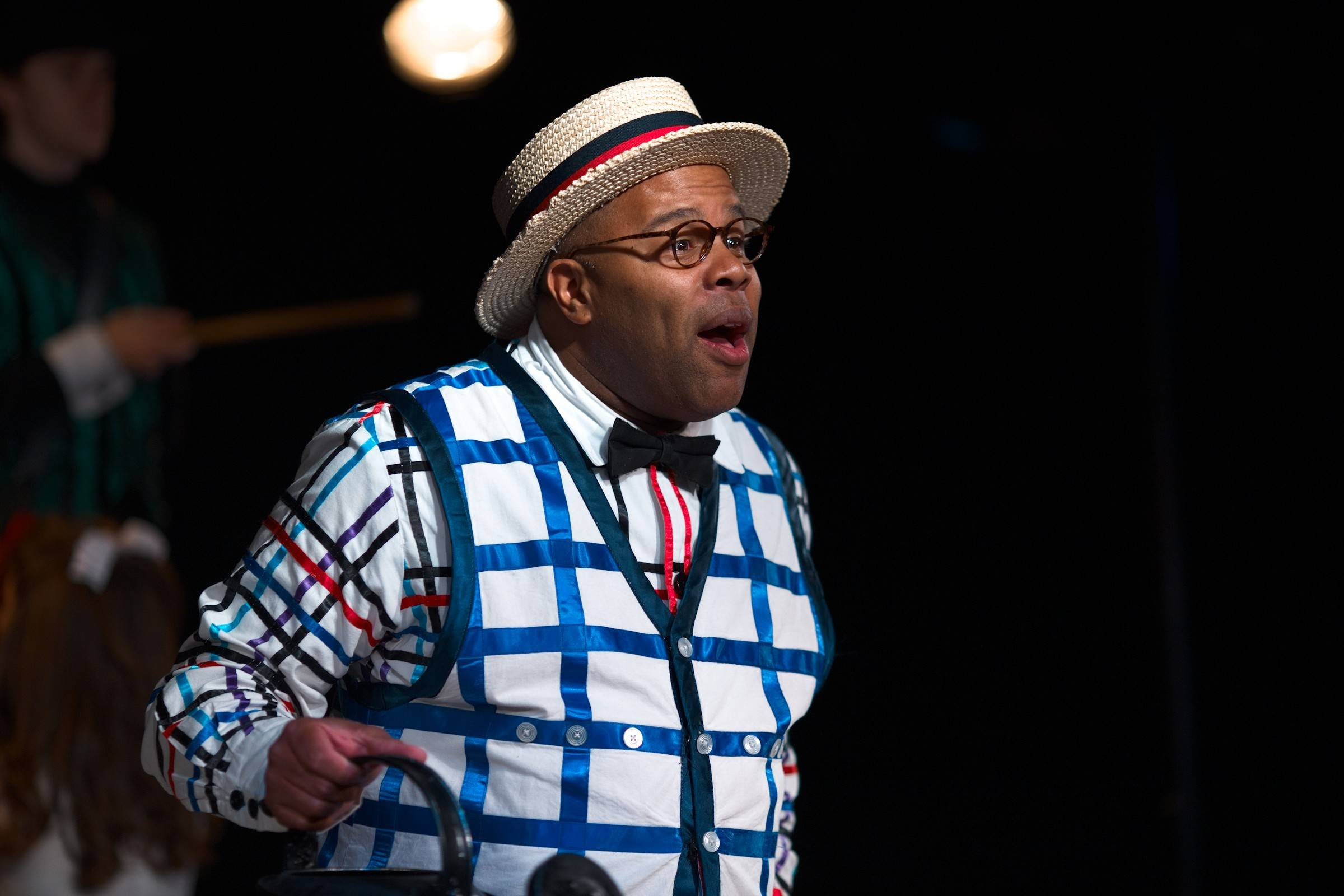 "Kevin R. Free has taken over the role of Bellomy in ""The Fantasticks."" This is the first time a black man has played the role in the New York show's more than 20,000 performances over 54 years."