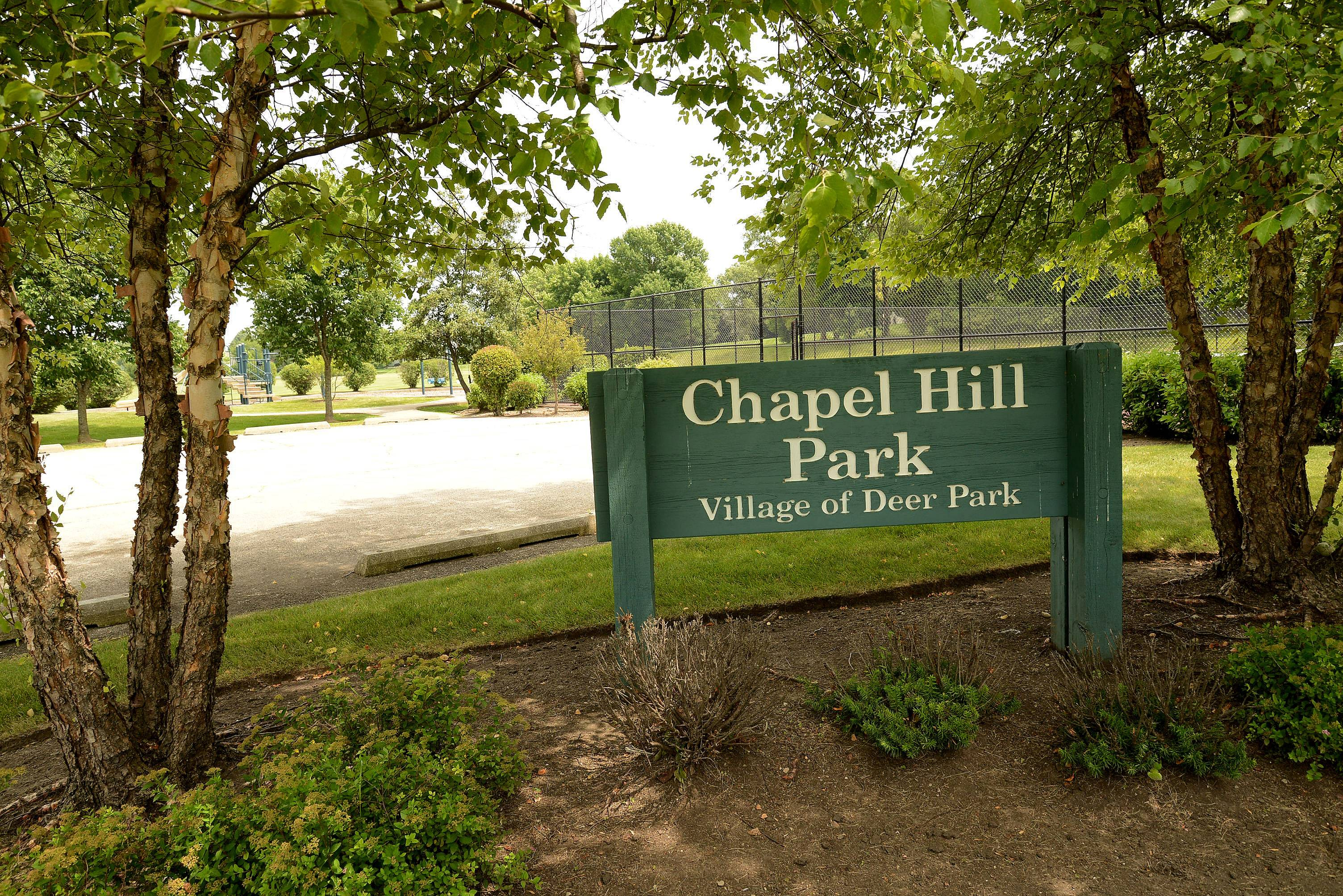 Chapel Hill Park offers recreational space for residents of the subdivision.