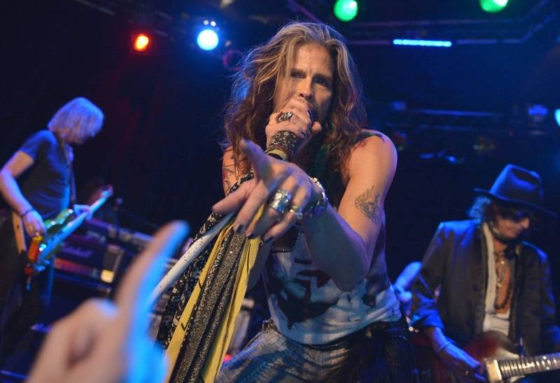 Steven Tyler and Aerosmith play the First Midwest Bank Amphitheatre in Tinley Park Friday, July 25.
