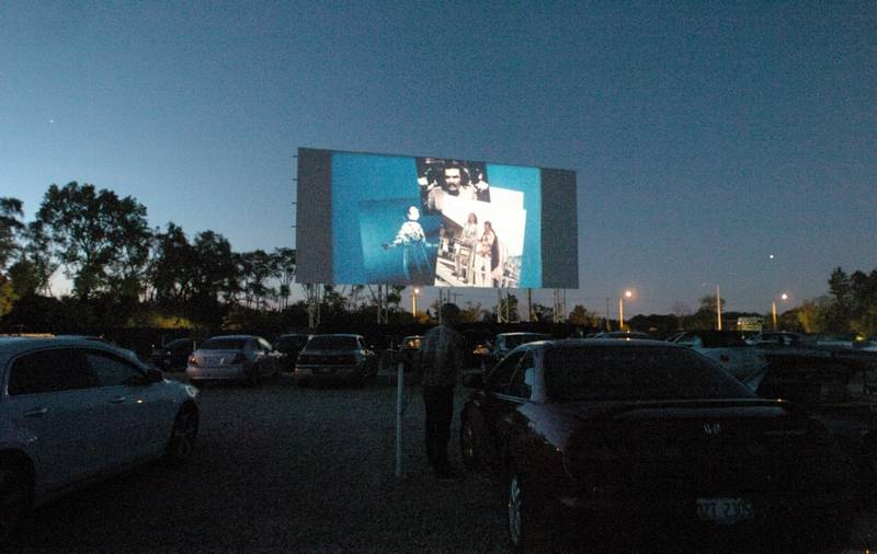 Catch a movie at the Cascade Drive-In in West Chicago.