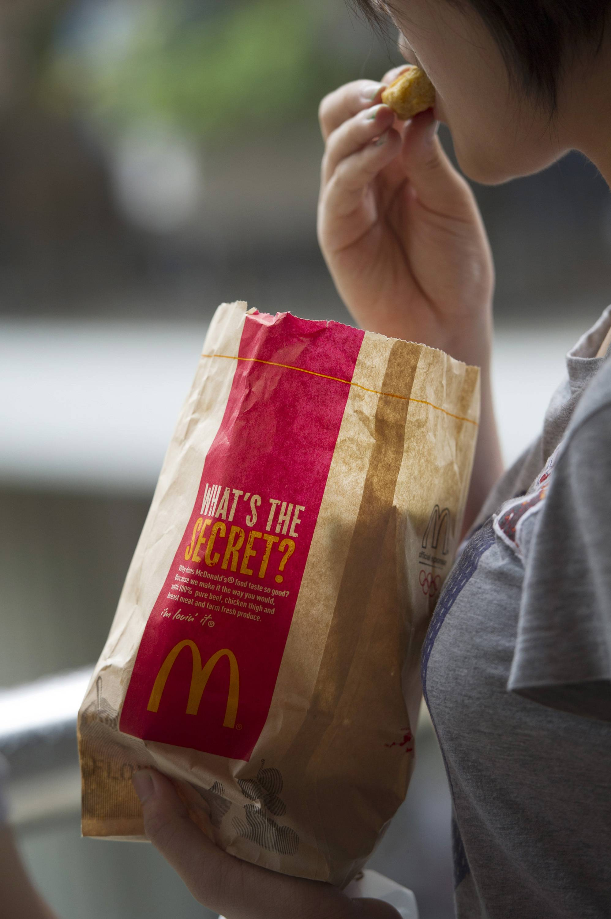 Some McDonald's food has too many calories for the Russian government's liking.