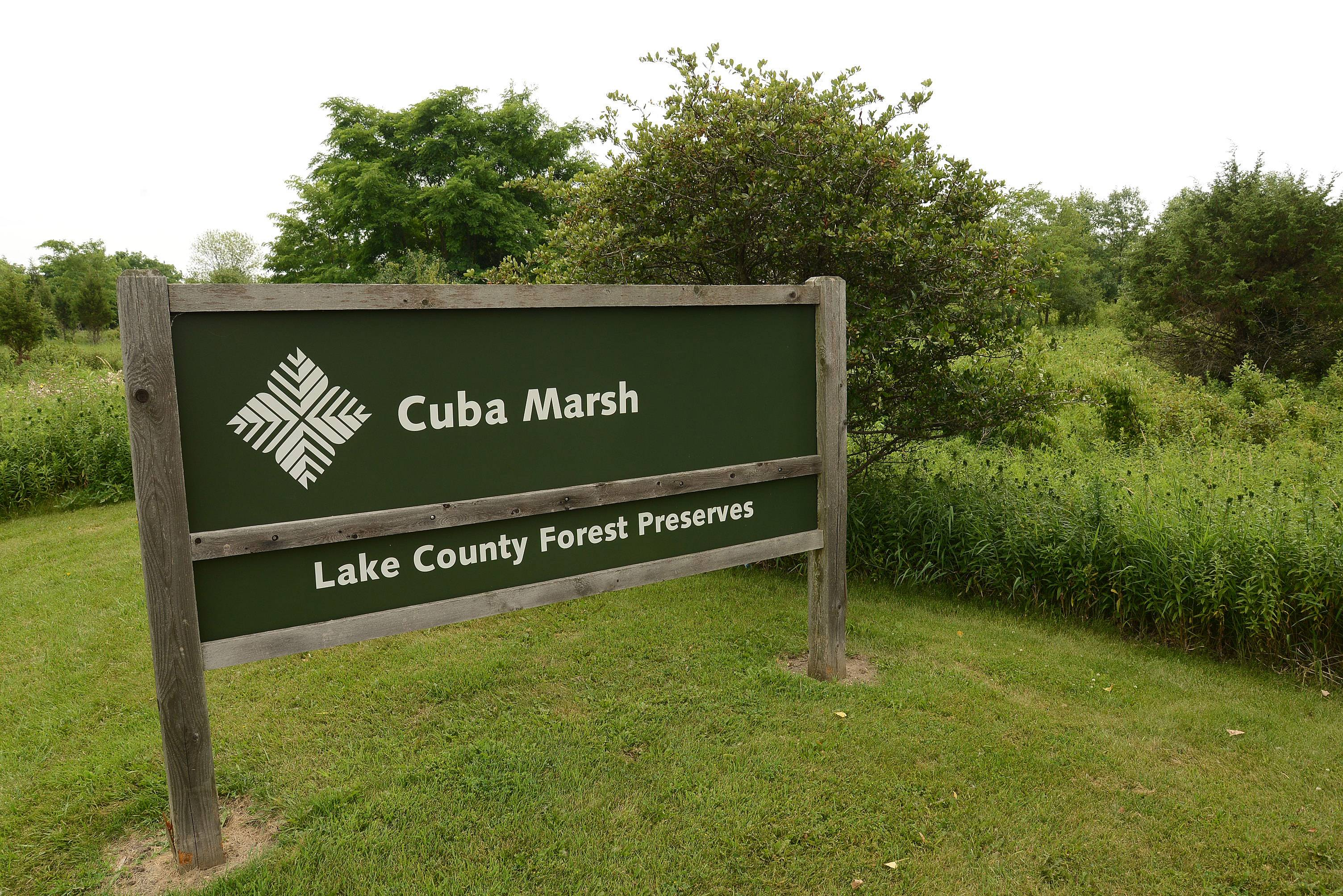 Bike and walking trails in Cuba Marsh just south of Chapel Hill are a nice amenity for residents.