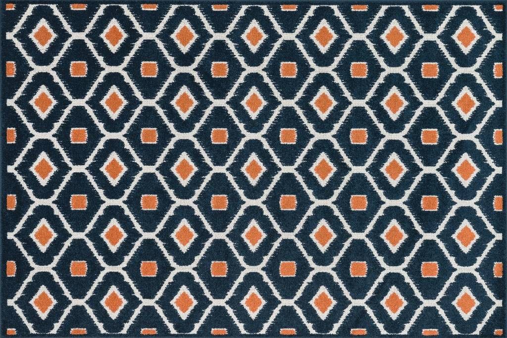 Today's outdoor rugs look and feel just like their interior counterparts.