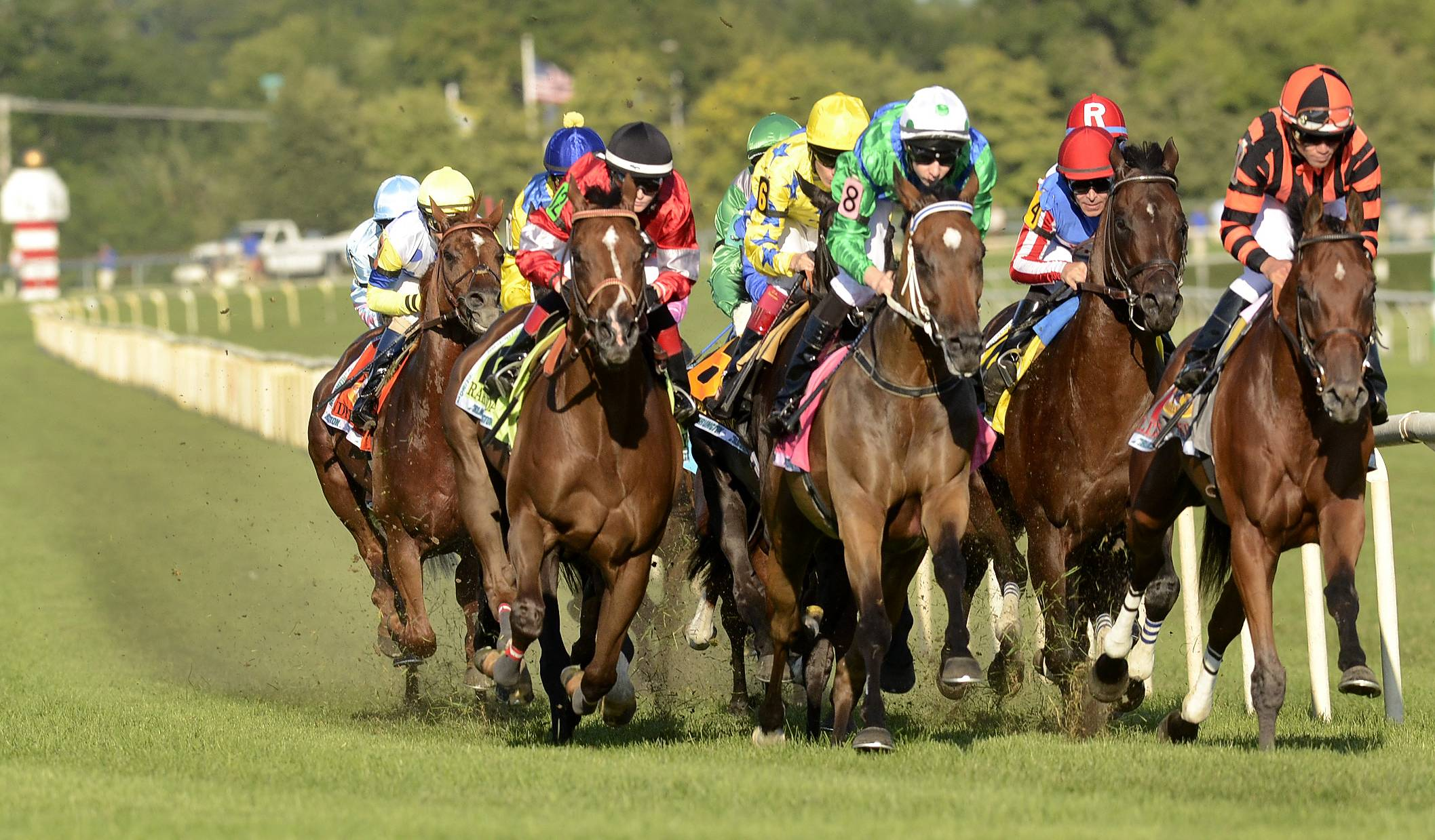 The Arlington Million returns to Arlington International Racecourse on Aug. 16.