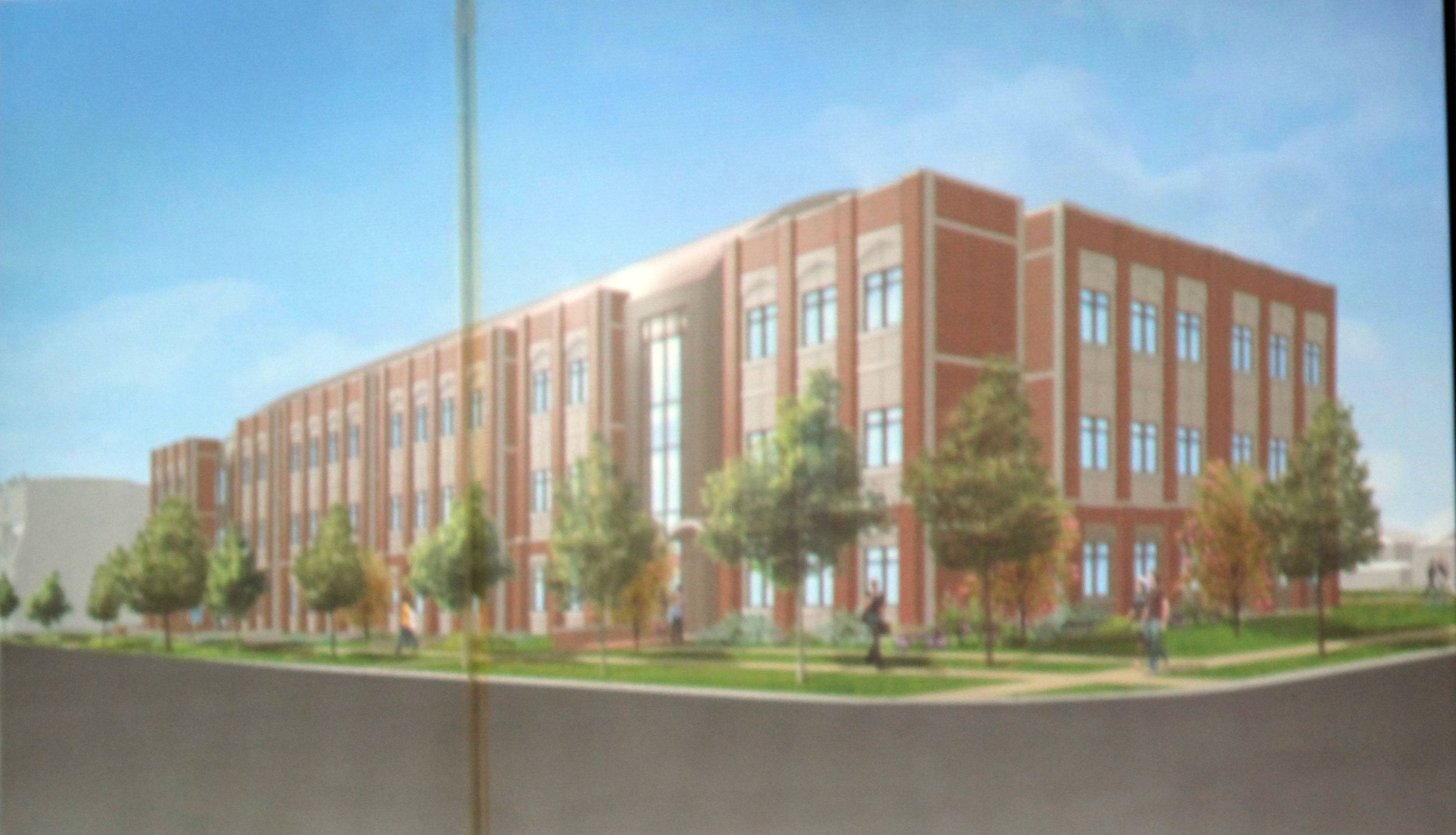 North Central College will re-evaluate plans for a $60 million, three-story science center on Loomis Street between Van Buren and Chicago avenues after Naperville's historic preservation commission denied a request to demolish six structures to make way for the new science building.