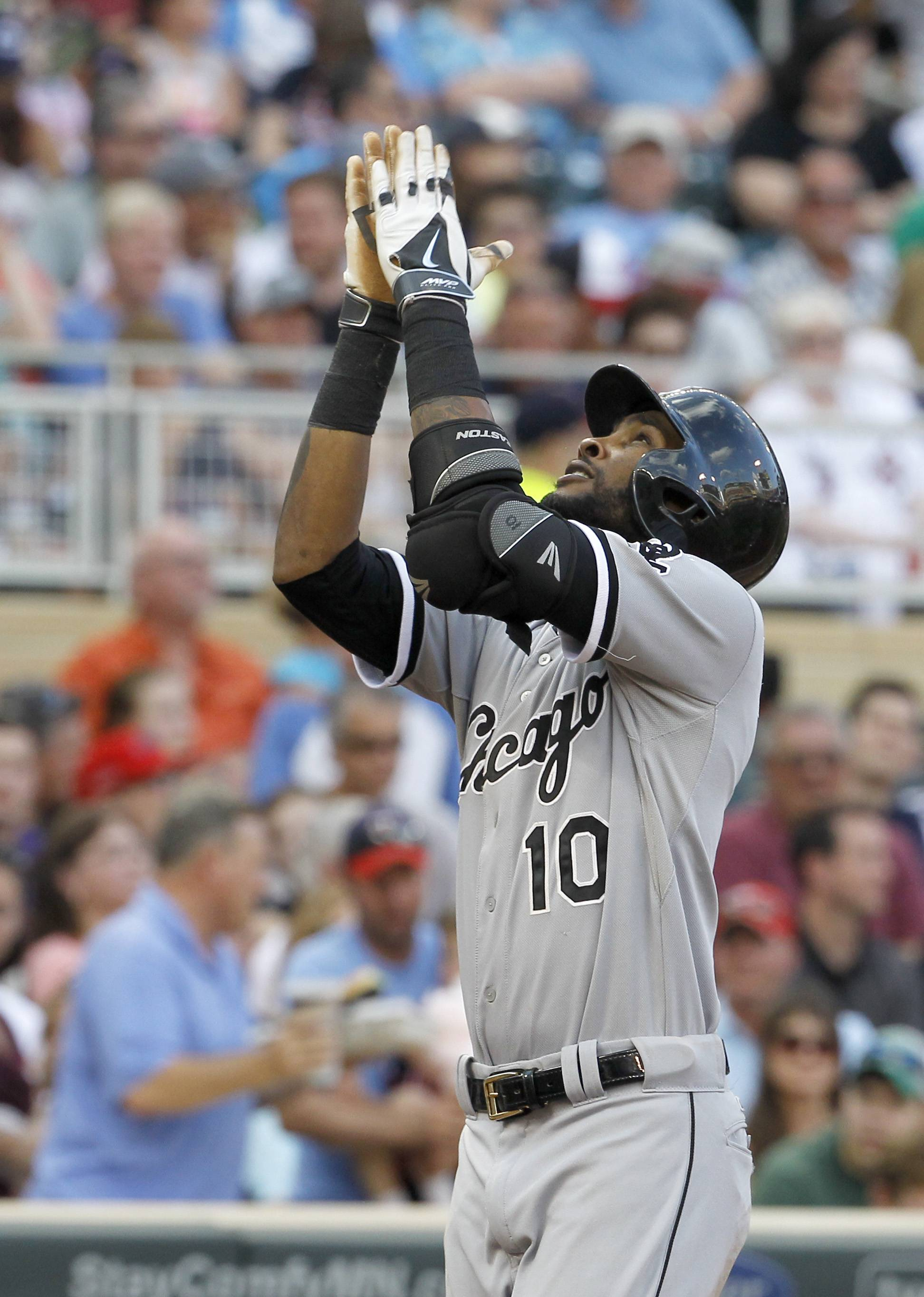 The White Sox's Alexei Ramirez hit his 10th home run during Saturday's game against the Twins in Minneapolis.
