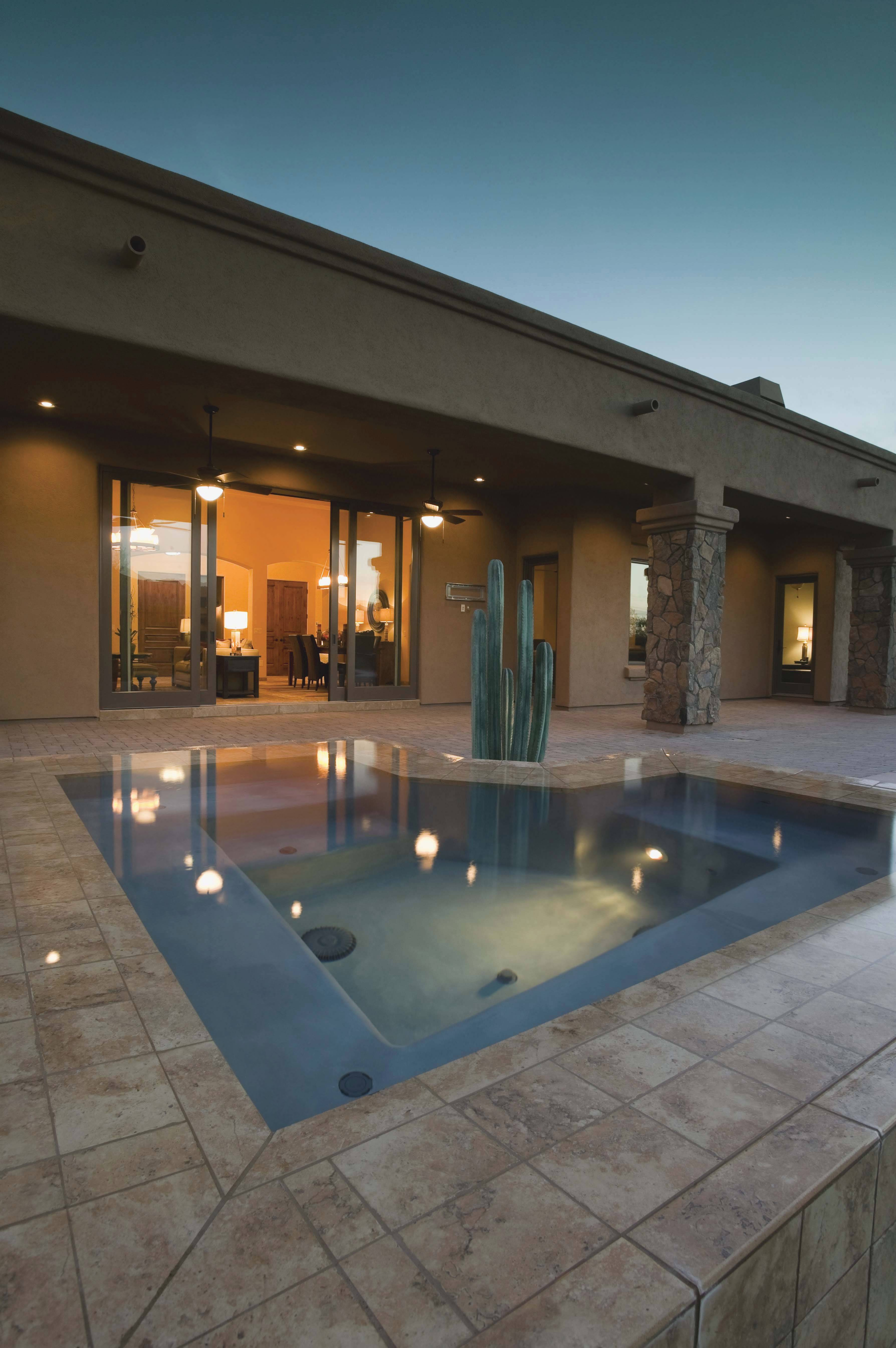 Low Voltage And LED Lighting Are Popular Sources For Ambient Pool Lighting.  Floating And