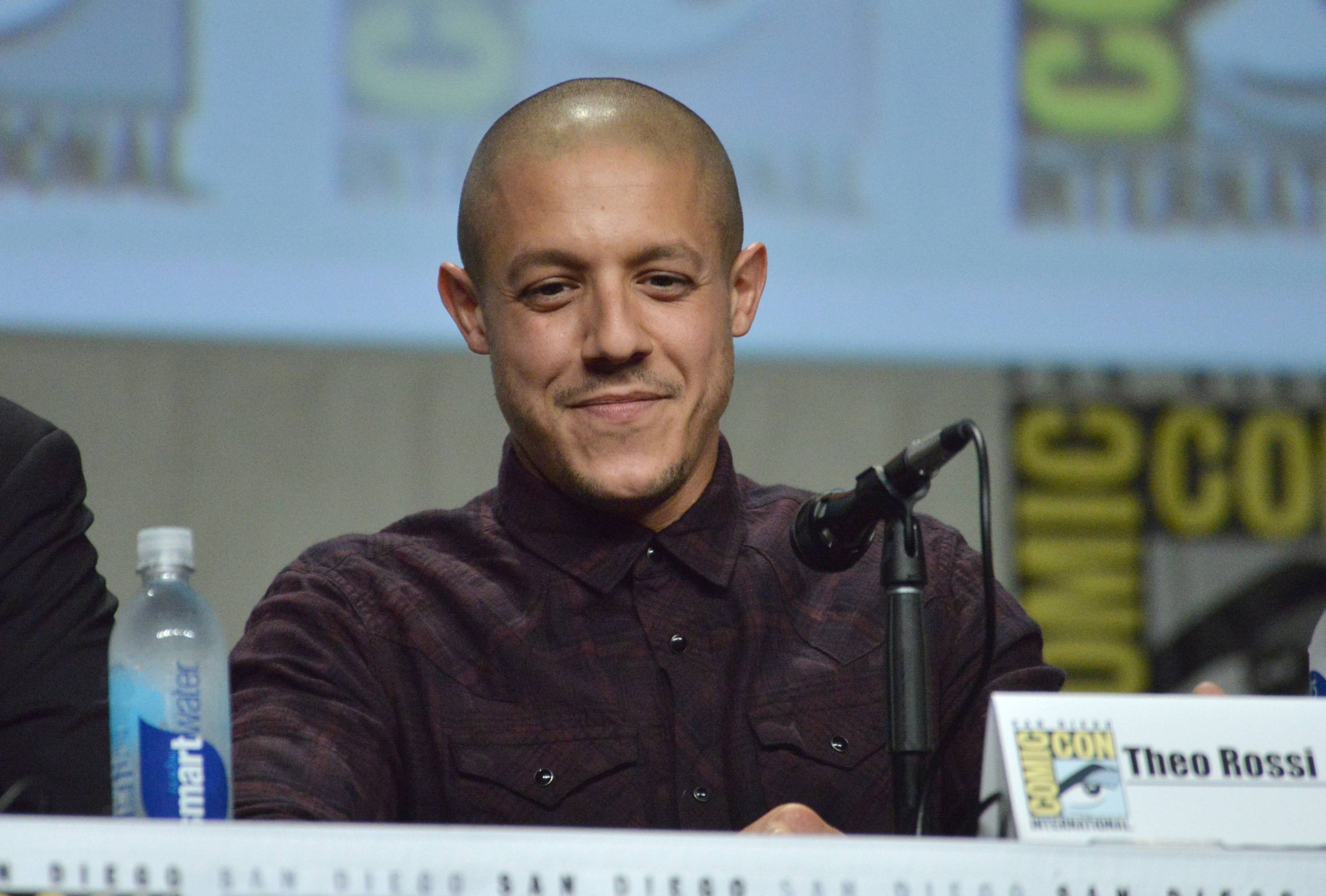 "Theo Rossi attends the ""Sons of Anarchy"" panel on day 4 of Comic-Con International on Sunday, July 27, 2014, in San Diego."