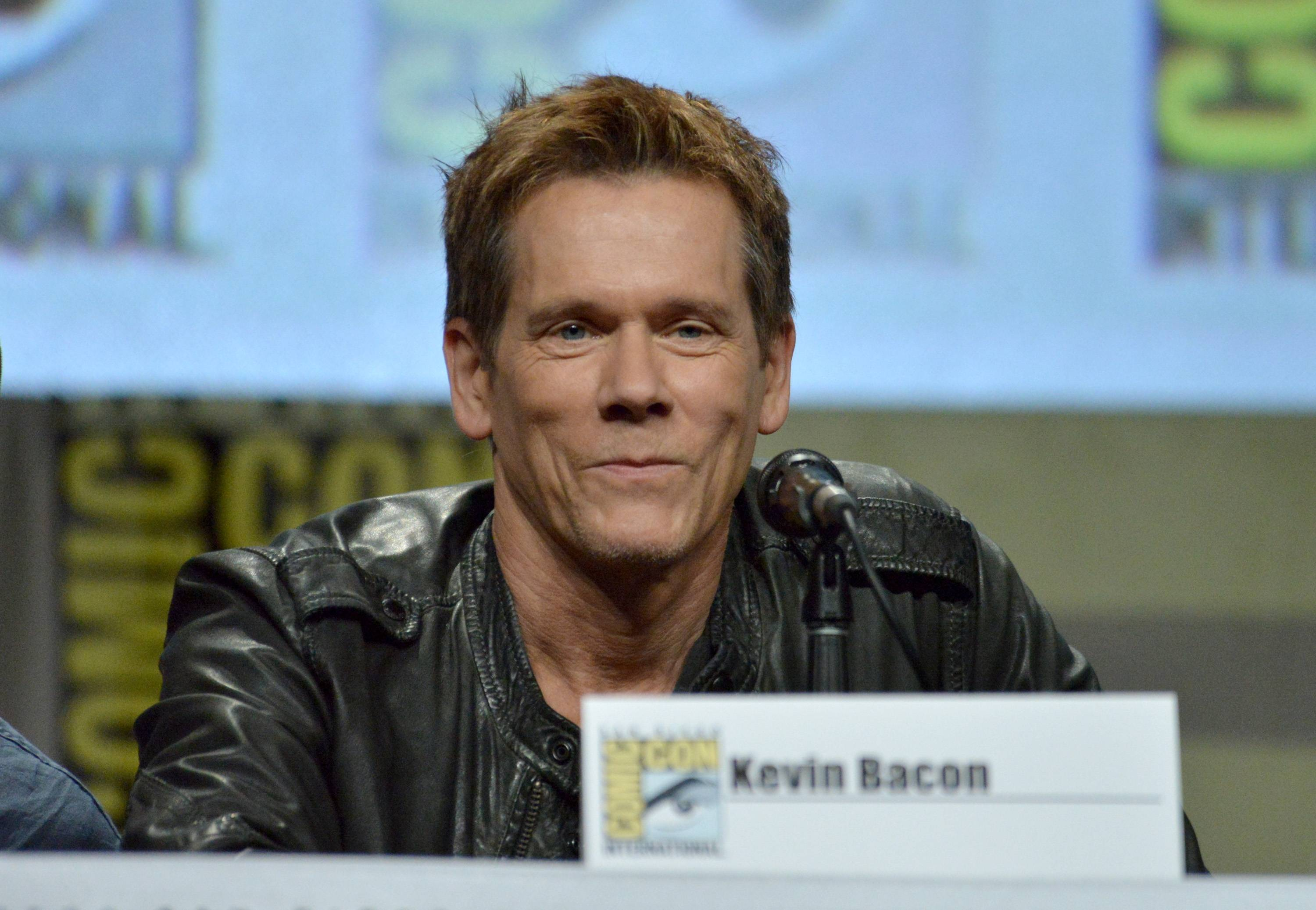 "Kevin Bacon attends ""The Following"" special video presentation and Q&A on Day 4 of Comic-Con International on Sunday."