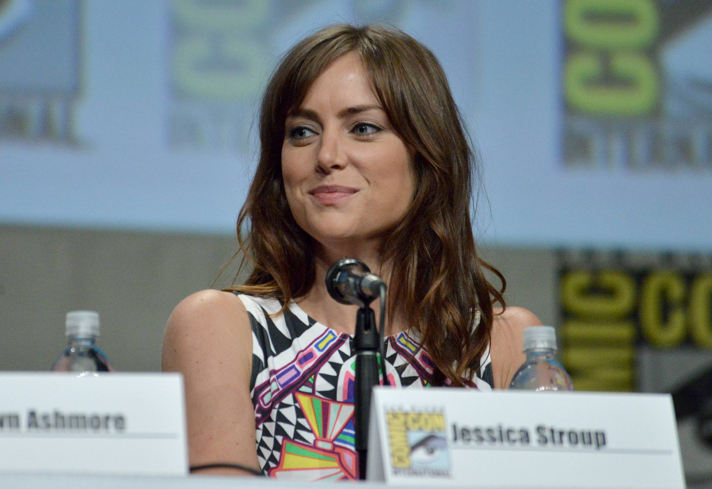 "Jessica Stroup attends ""The Following"" special video presentation and Q&A on Day 4 of Comic-Con International on Sunday."