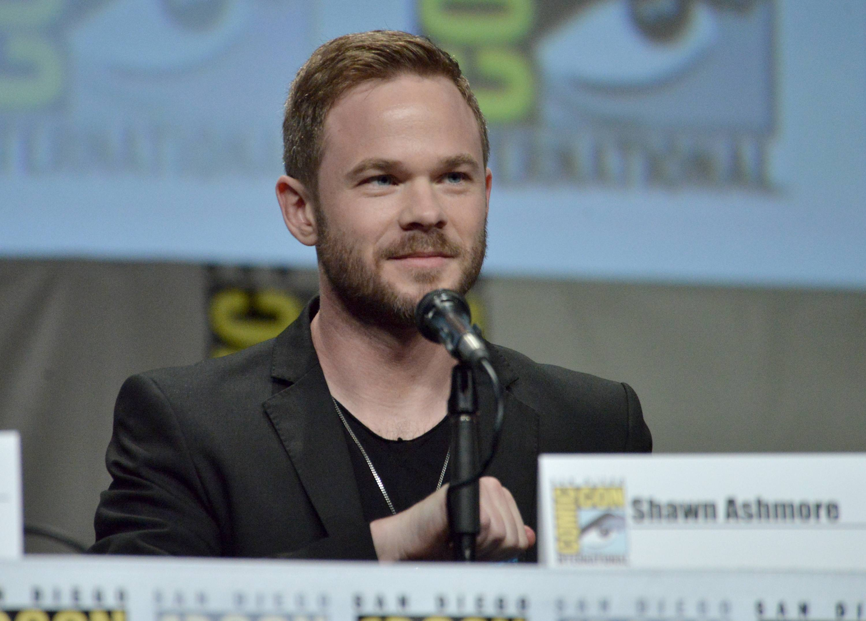 "Shawn Ashmore attends ""The Following"" special video presentation and Q&A on Day 4 of Comic-Con International on Sunday."