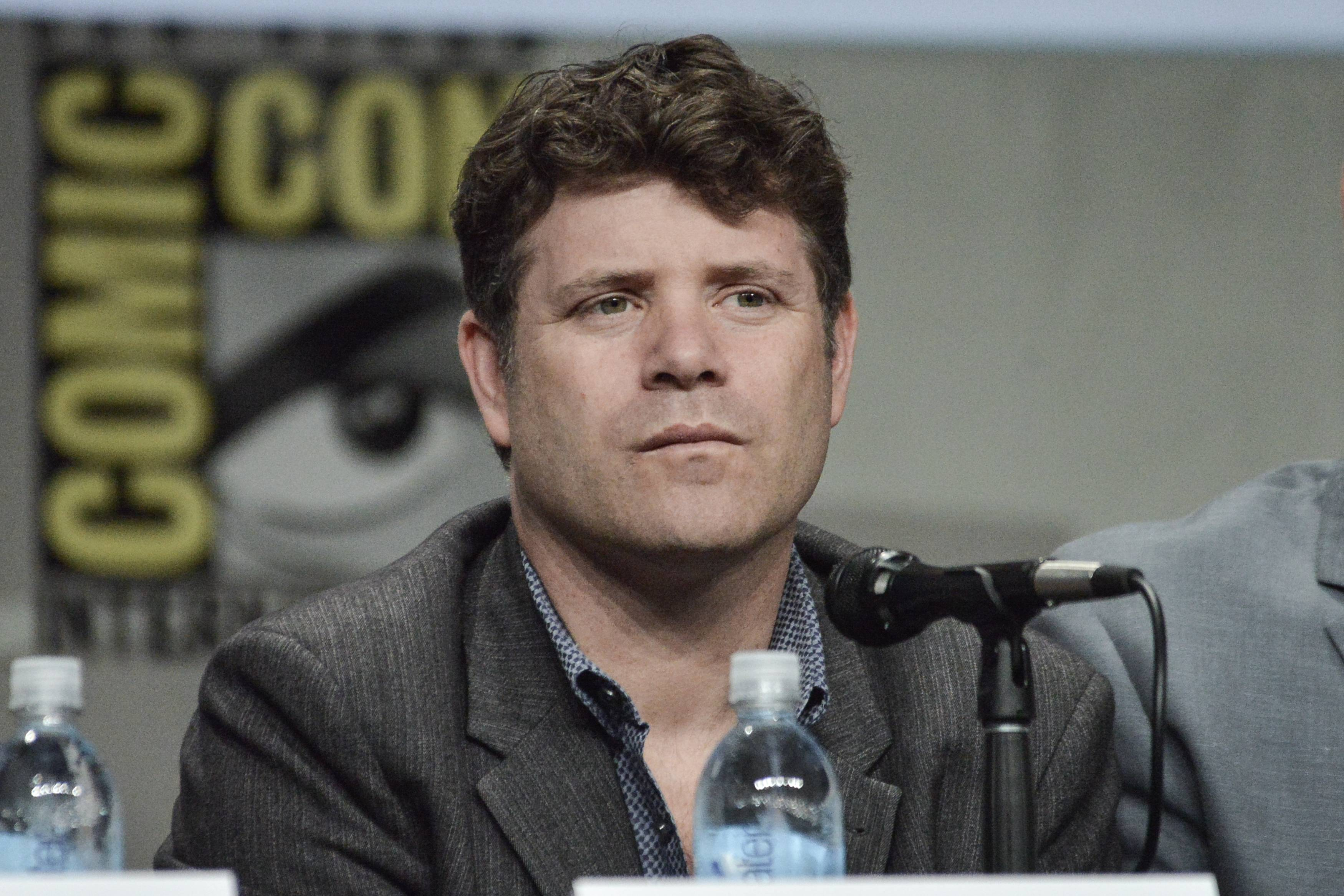 "Sean Astin attends ""The Strain"" panel on Day 4 of Comic-Con International on Sunday in San Diego."