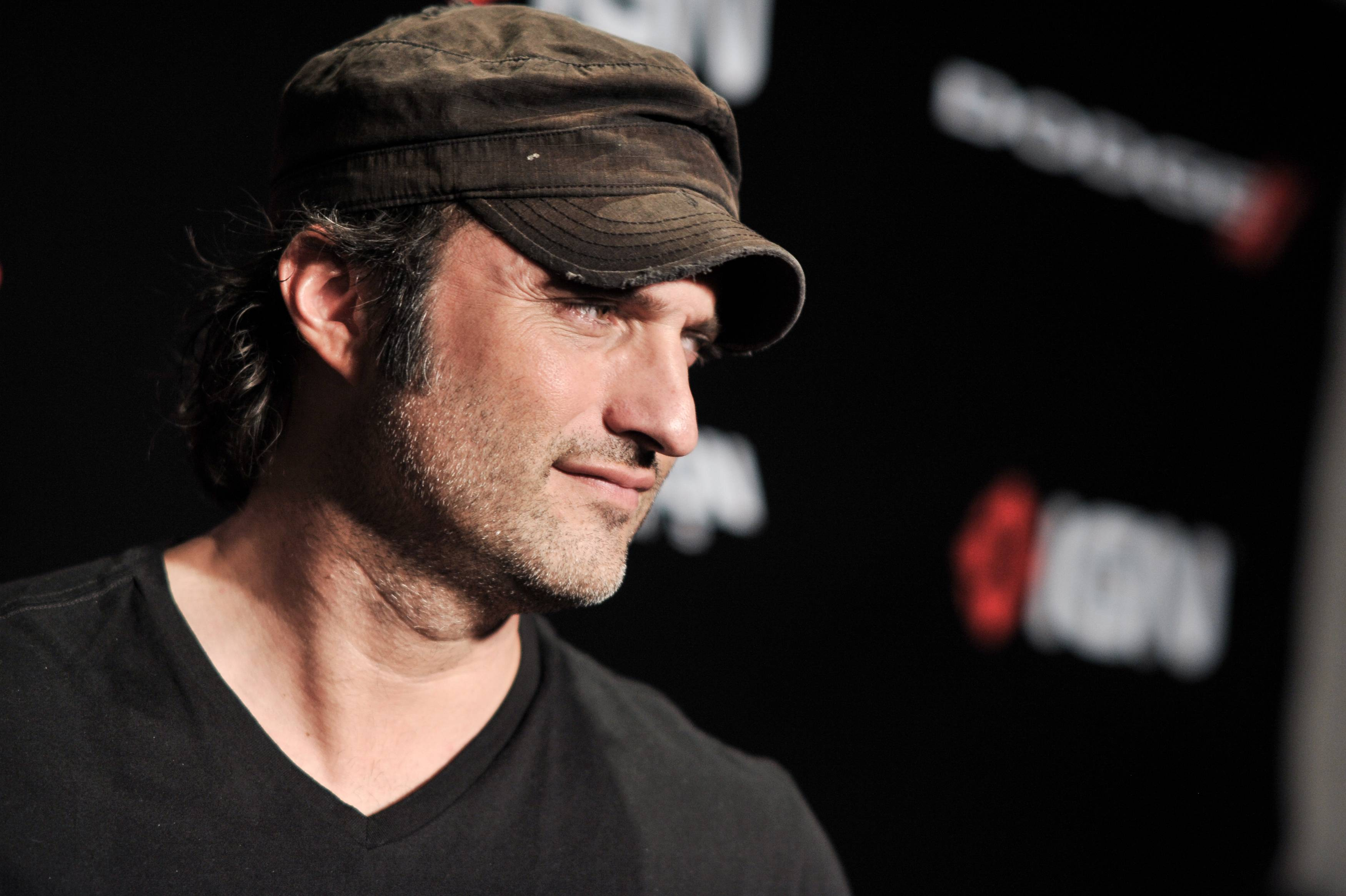 "Robert Rodriguez arrives at the  ""2014 Comic-Con -Sin City: A Dame To Kill For"" party on Day 1 of Comic-Con International held at the Hard Rock Hotel on Thursday."
