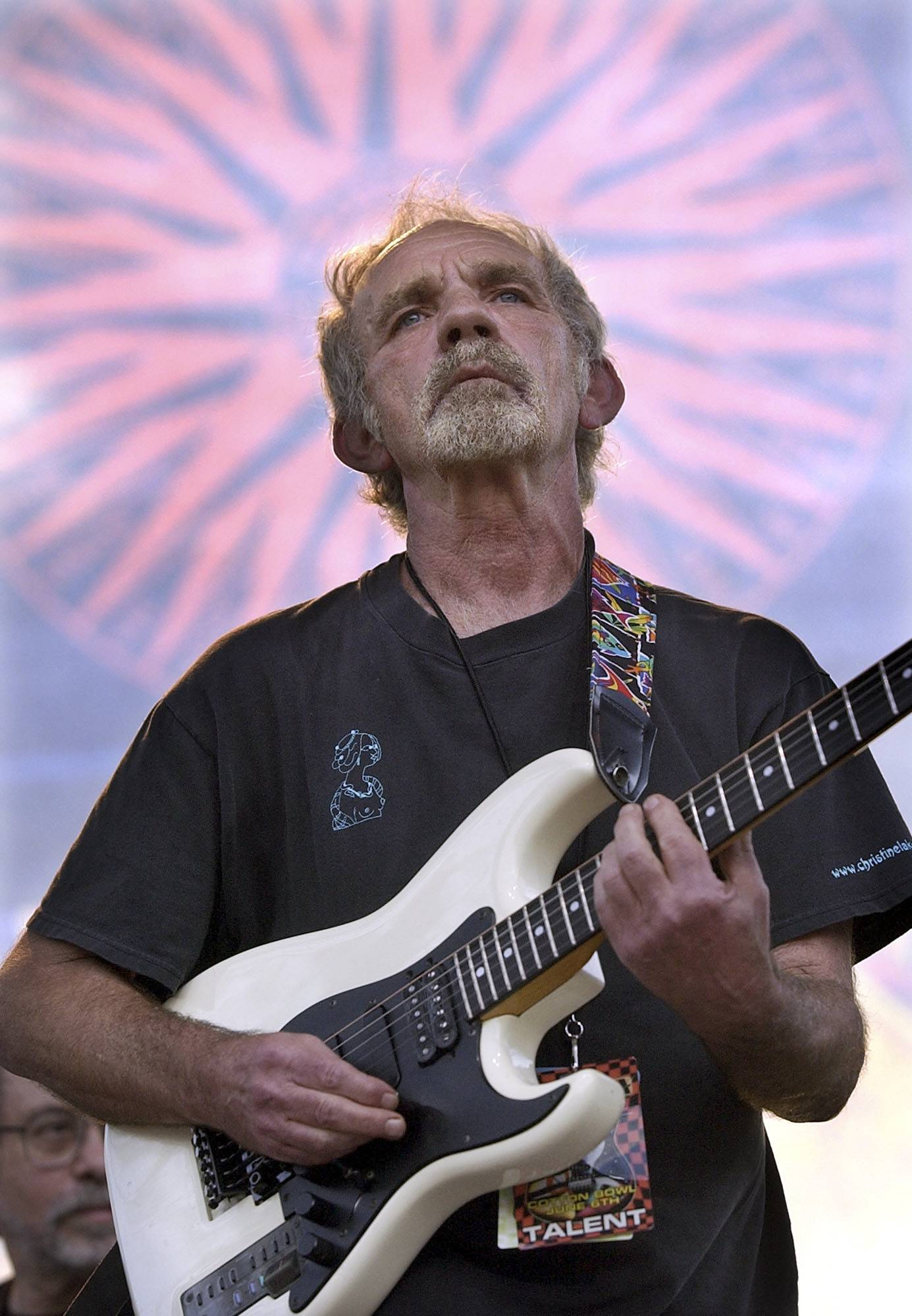 "Singer-songwriter J.J. Cale plays during the Eric Clapton Crossroads Guitar Festival in Dallas, Texas. Cale's best-known songs became hits for Eric Clapton with ""After Midnight"" and Lynyrd Skynyrd with ""Call Me the Breeze."""