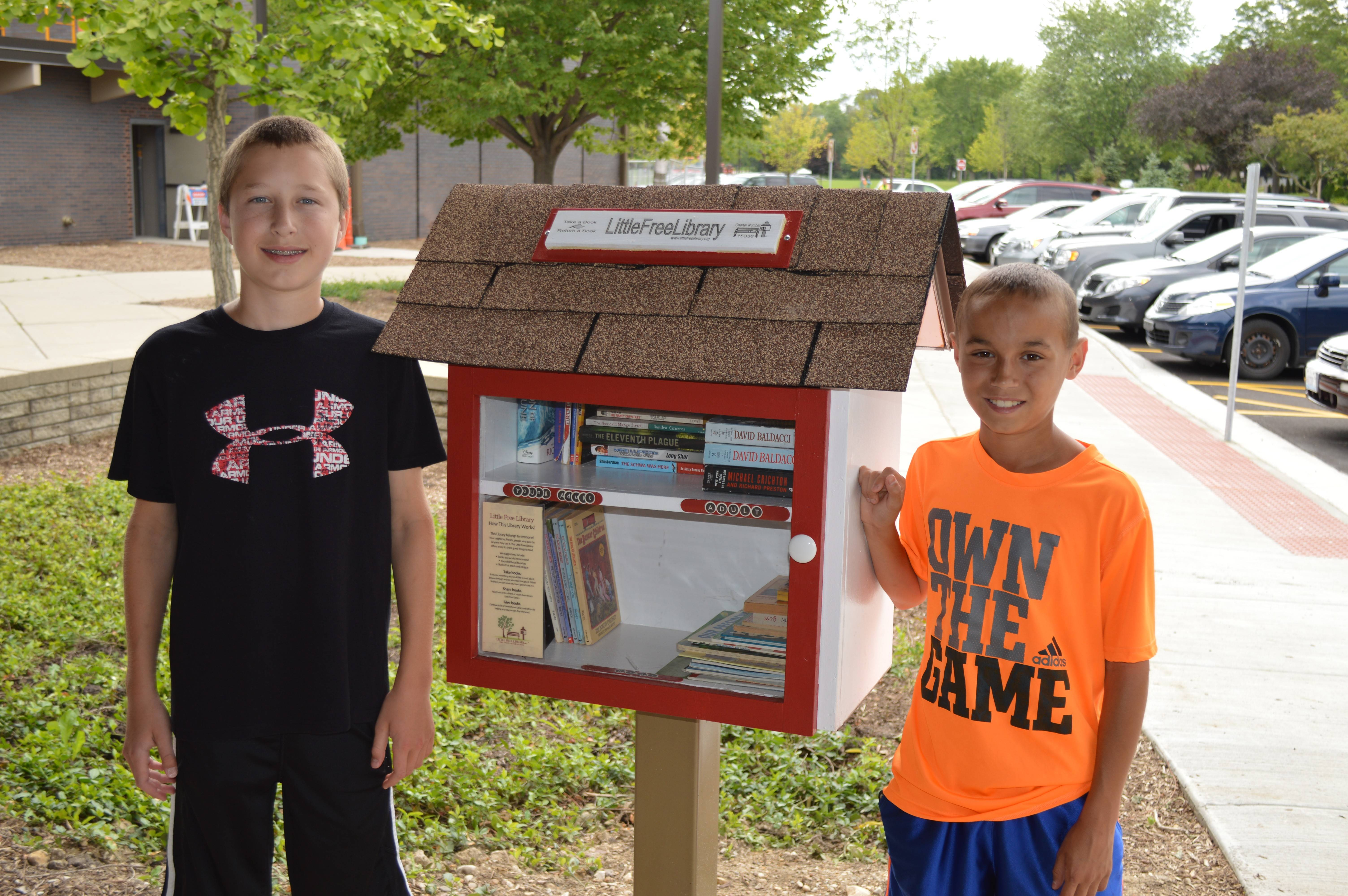 Little Free Library debuts at Arlington Hts. community center