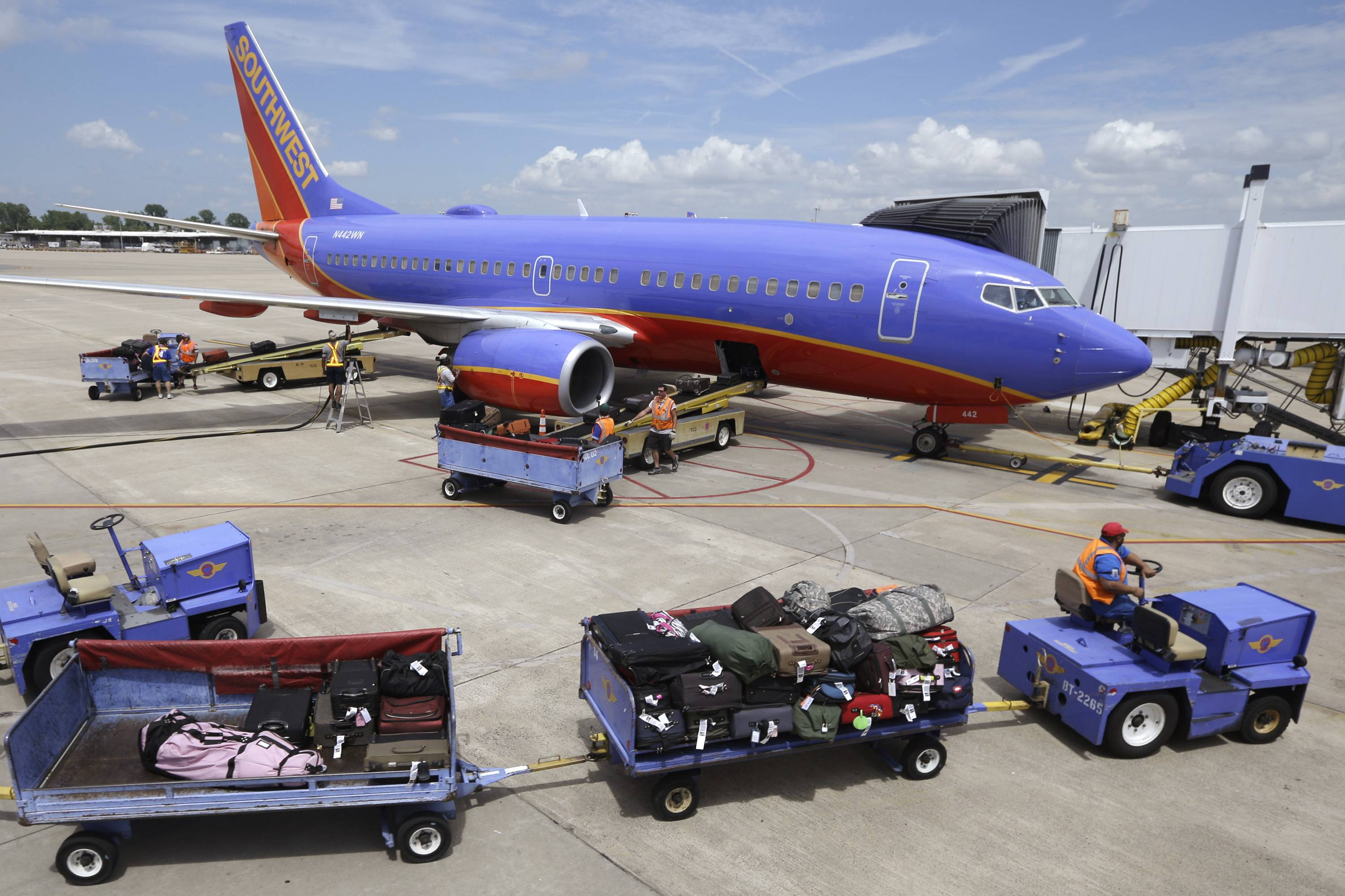 "Southwest Airlines Co. may have to pay a $12 million penalty to the U.S. government for operating ""numerous flights"" in 2009 after being notified that repairs to its airplanes didn't live up to federal regulations."