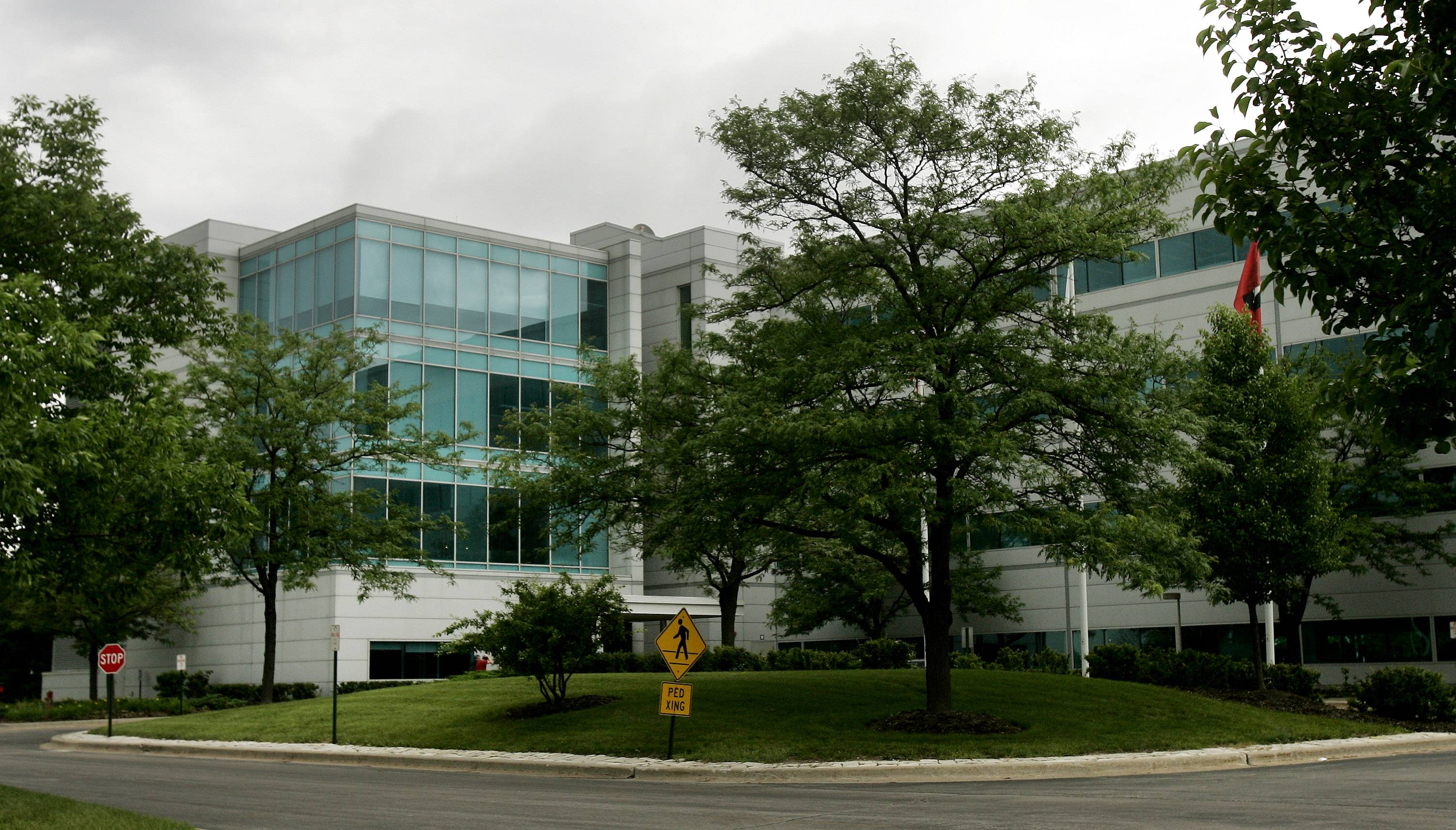 Motorola Mobility's former campus in Libertyville.