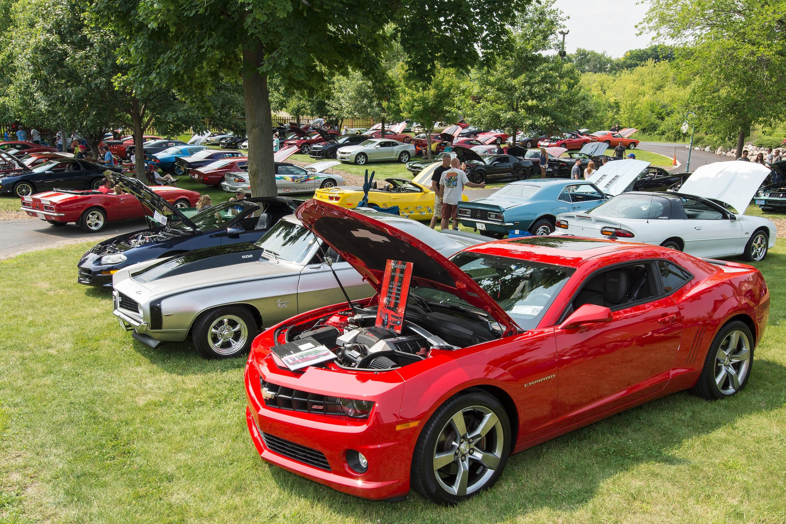 The third annual All Camaro Car Show took place last weekend on the Volo Auto Museum grounds in Volo. The event is hosted by the Illinois Camaro Club.