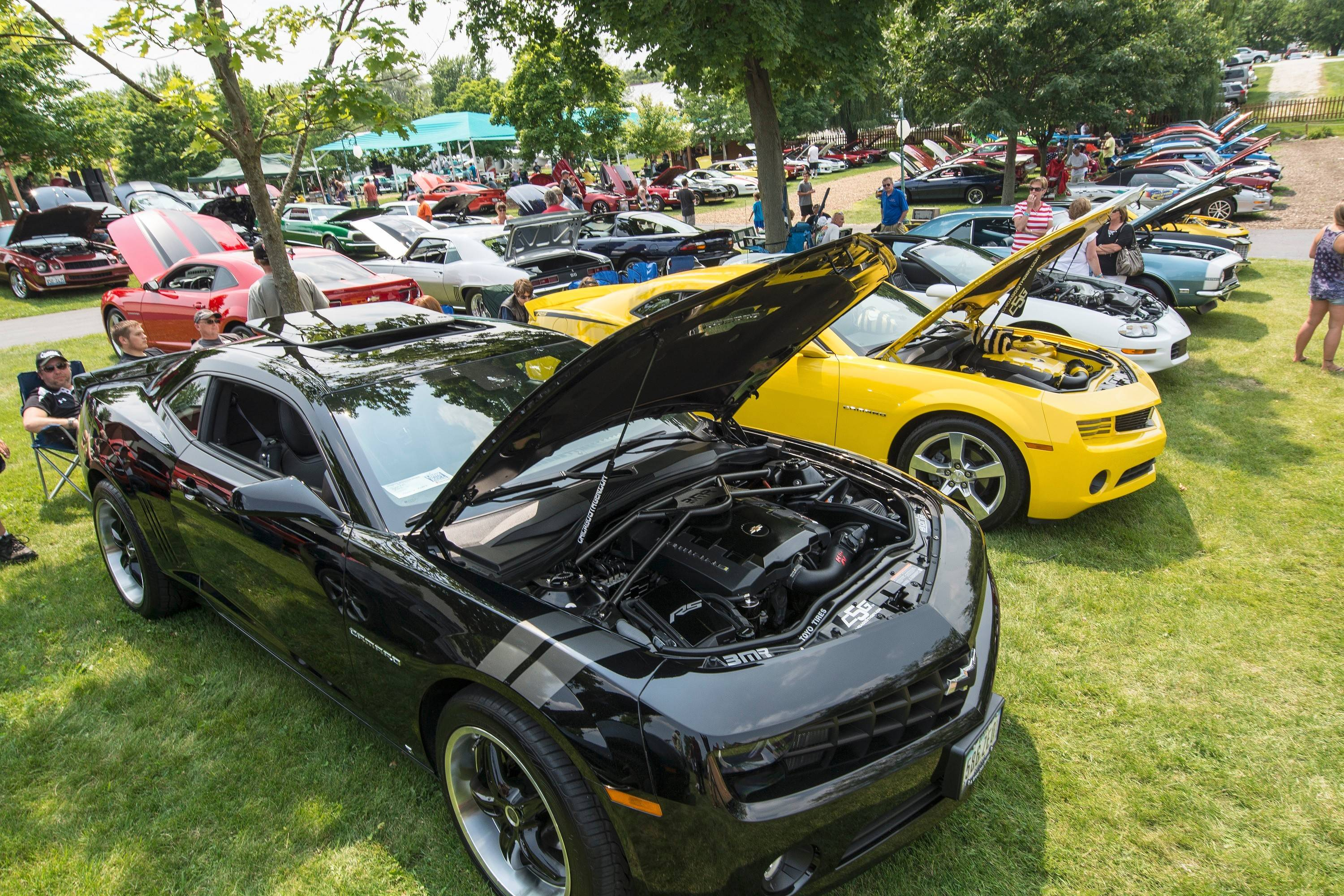 About 150 suburban Camaro owners participated in the annual show.