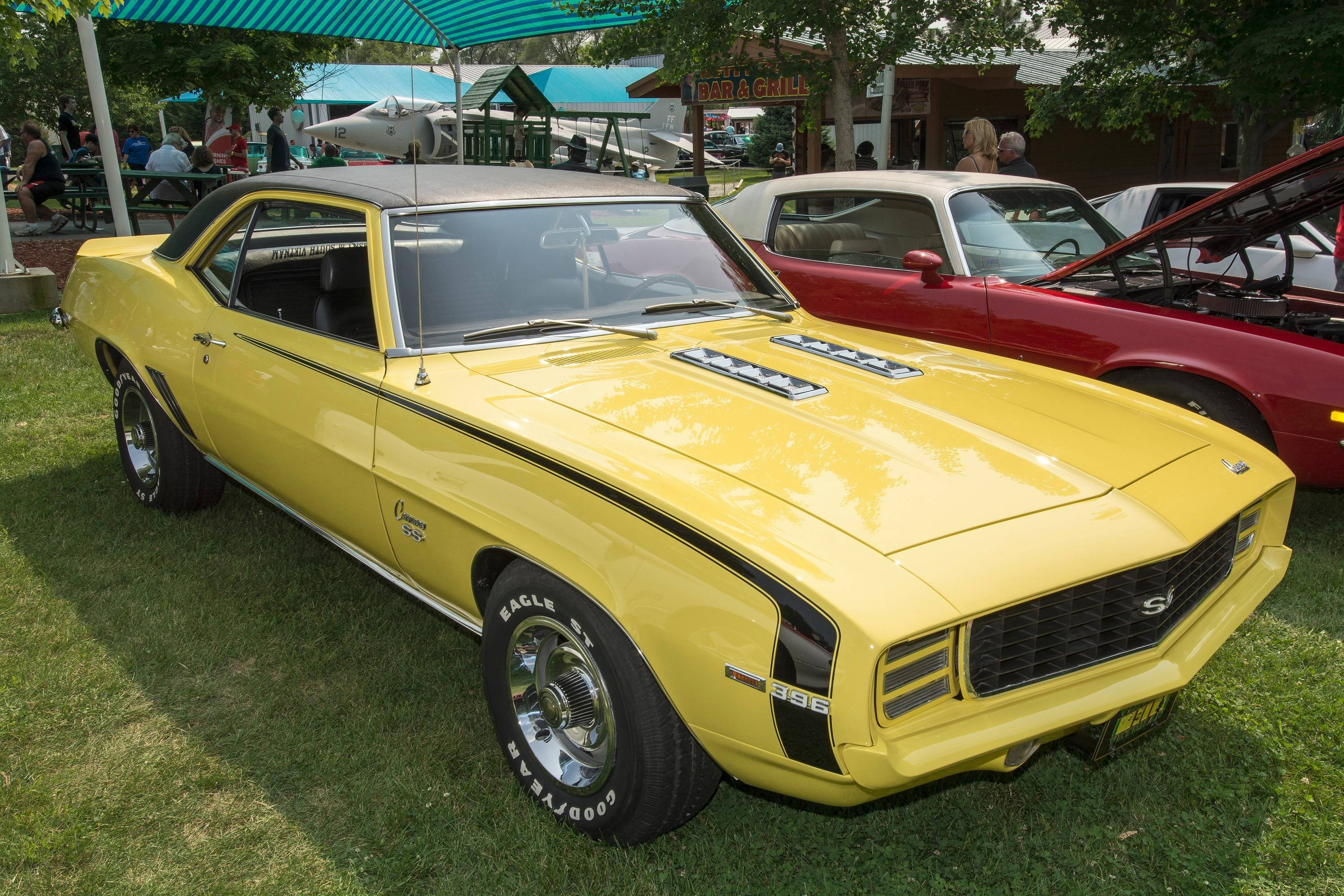 Selby has owned his first-generation, 1969 Camaro for more than two decades.