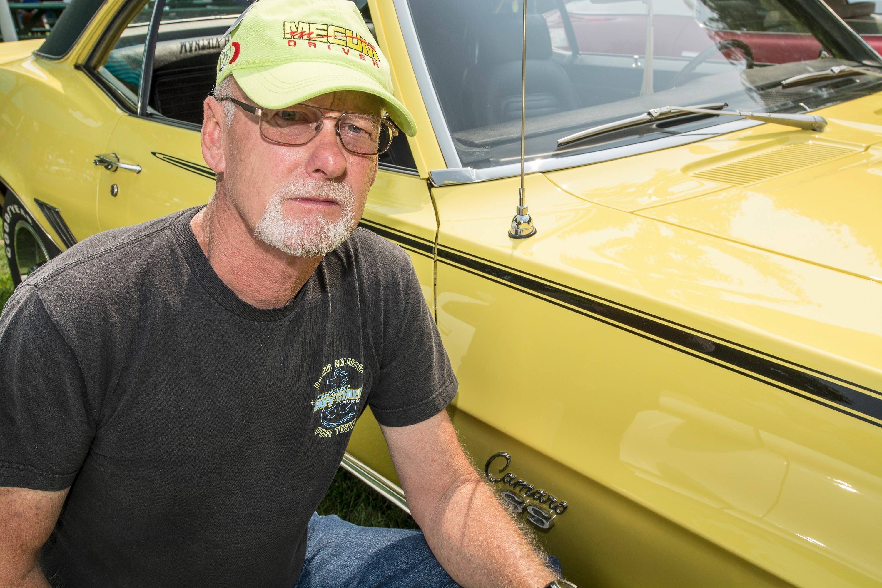 Jim Selby of Lake Villa is a founding member of the Illinois Camaro Club.