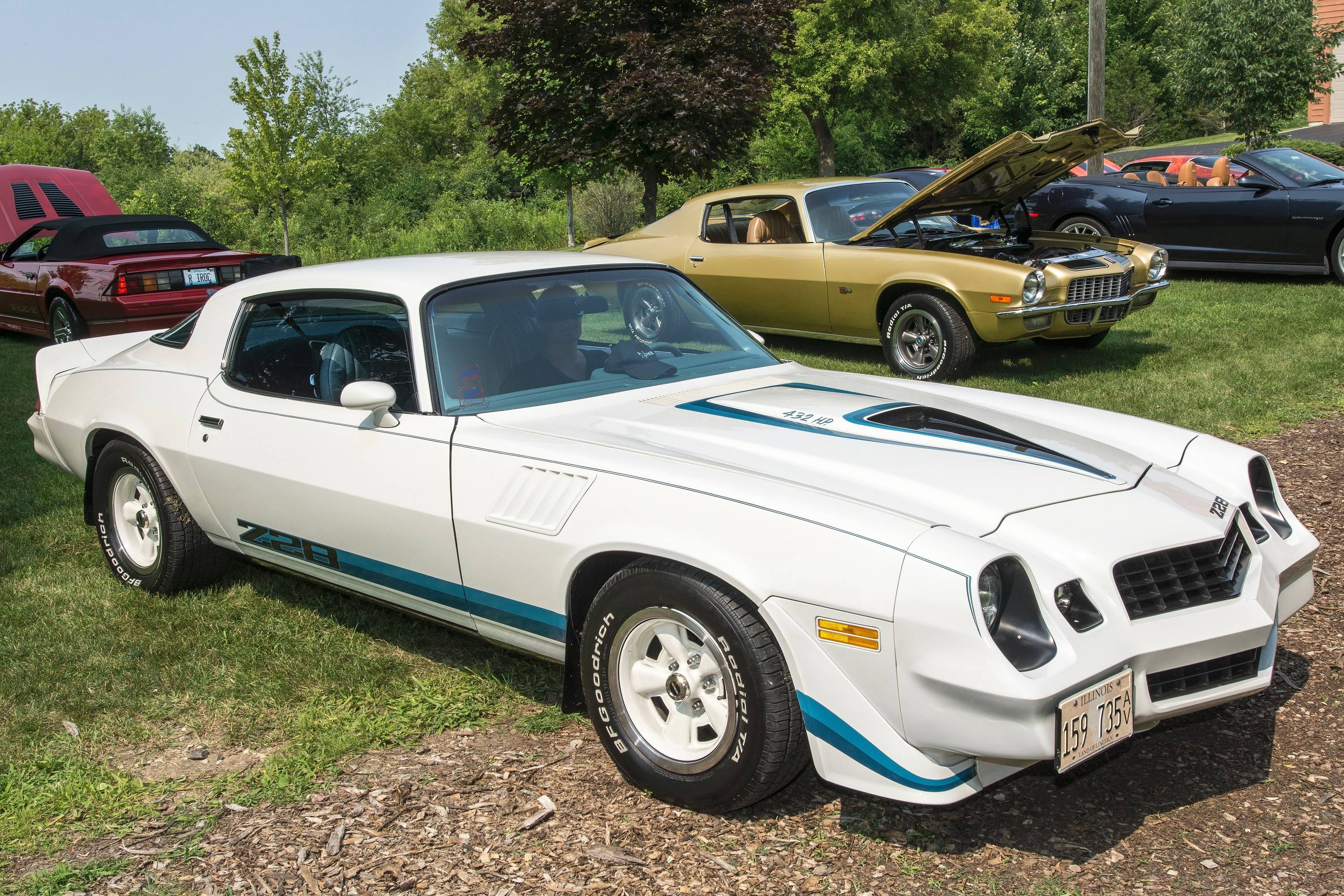 Camarata's Camaro won first place in the Second Generation Modified class at the Illinois Camaro Club's annual show.