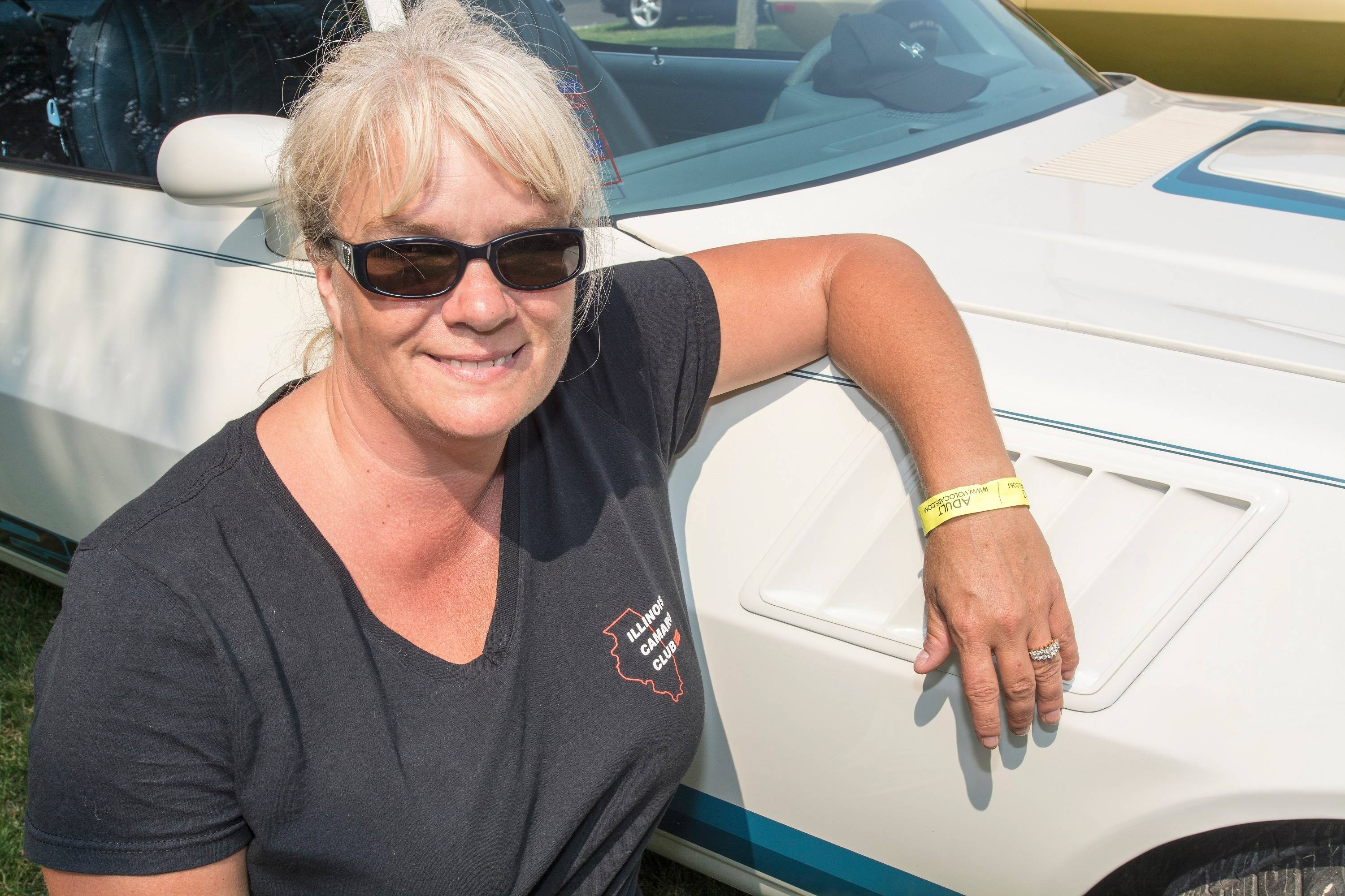 Shannon Camarata of Spring Grove first saw her car at an Illinois Camaro Club picnic five years ago.