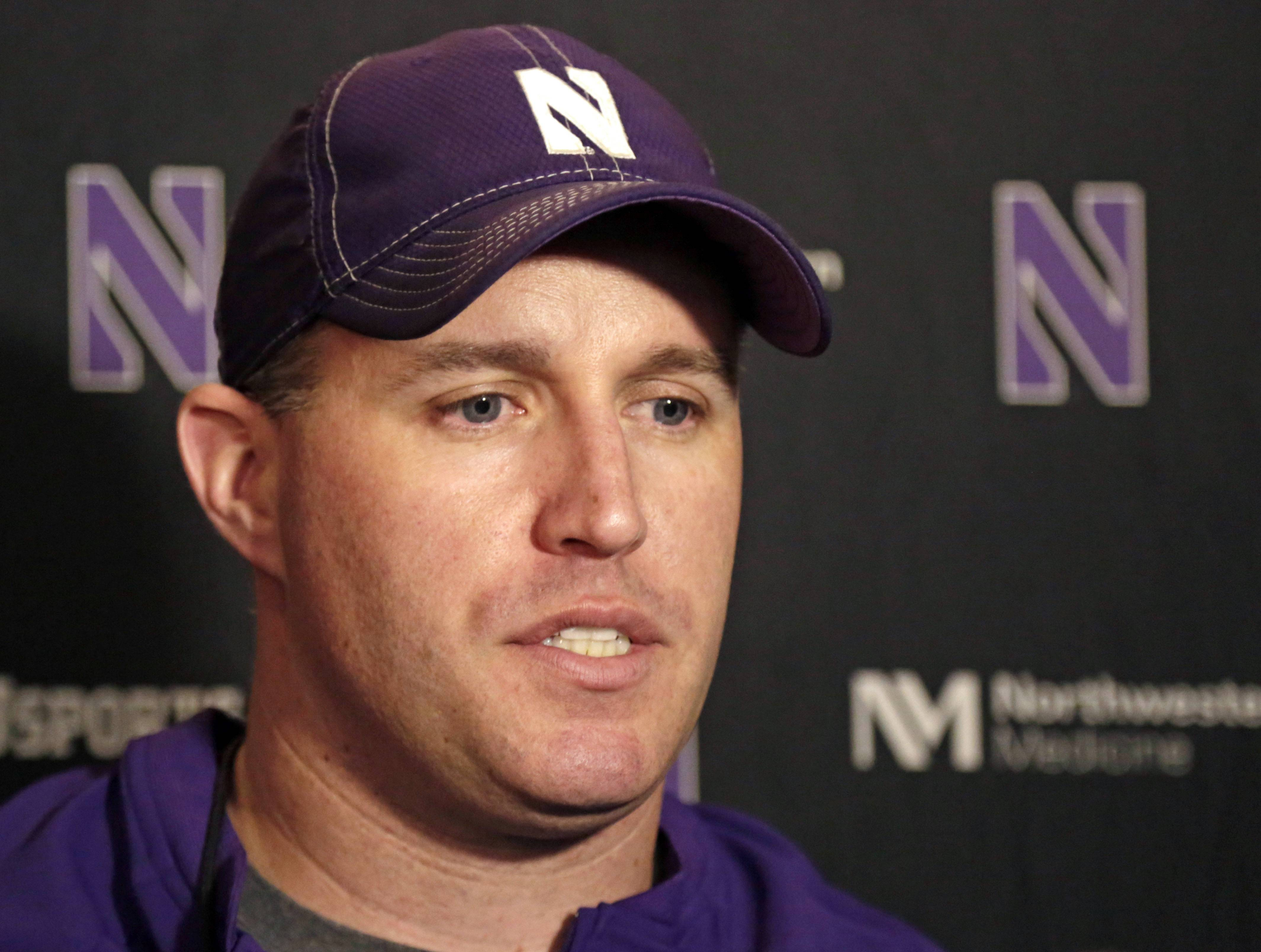"Northwestern head football coach Pat Fitzgerald he's ""proud of the maturity"" his players displayed as the effort to unionize unfolded."