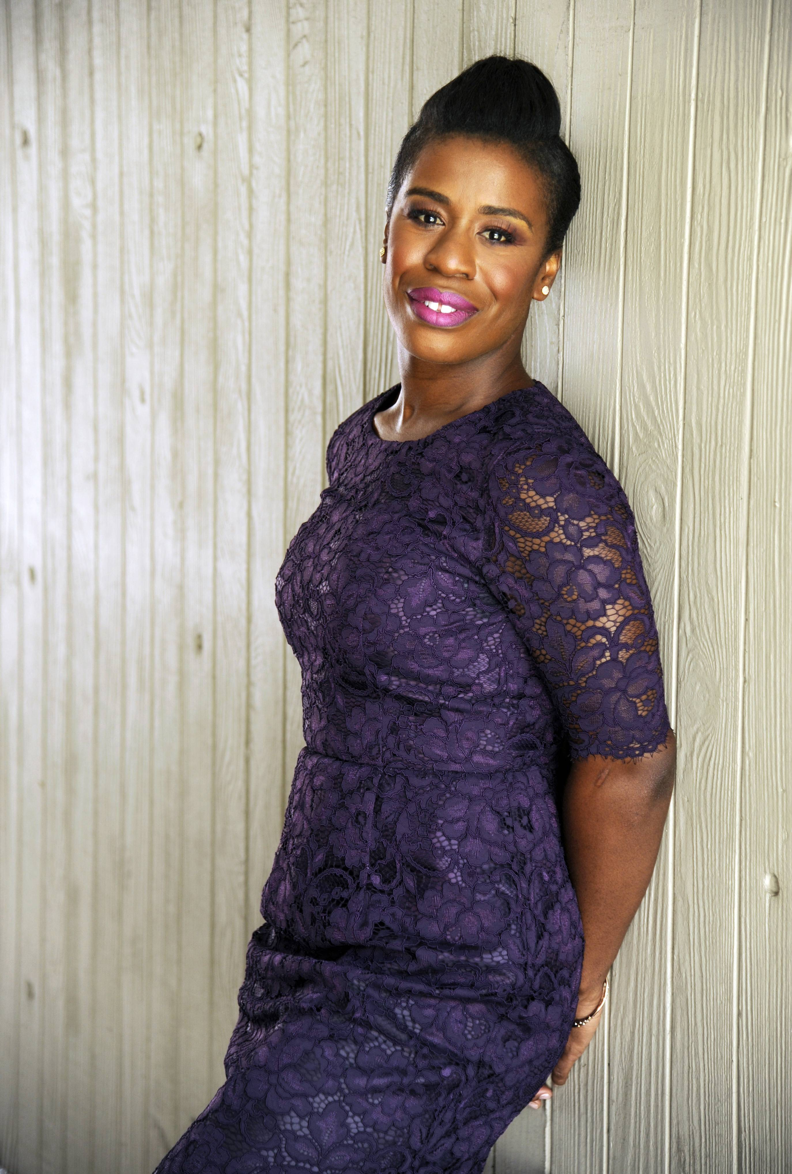 "Uzo Aduba, who stars in the Netflix series ""Orange is the New Black,"" is nominated for an Emmy Award for outstanding guest actress in a comedy series along with her ""Orange"" co-stars Laverne Cox and Natasha Lyonne."
