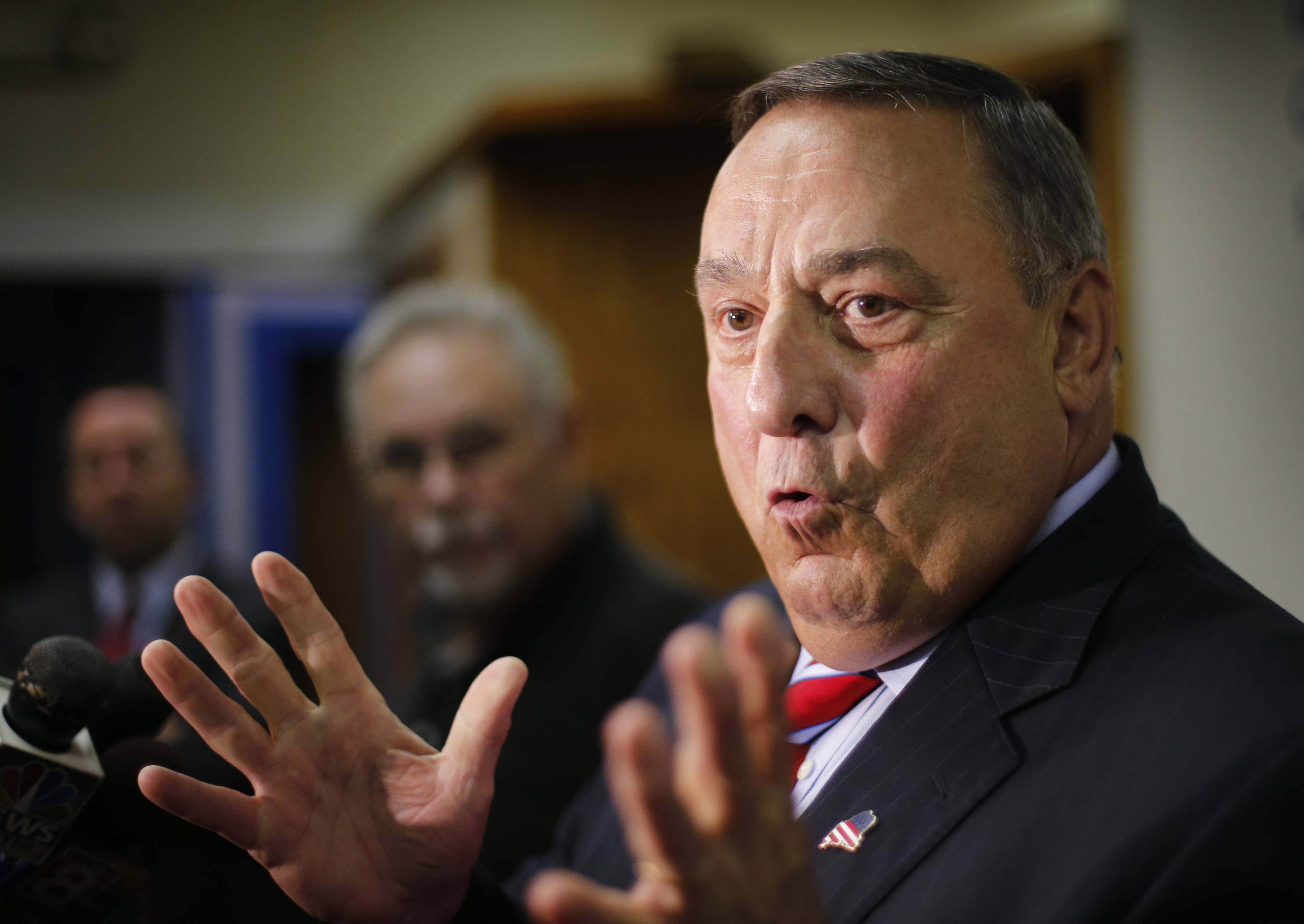 Maine Gov. Paul LePage, the governor of the state with the largest percentage of white people, placed thousands of miles from the southern border, has thrust the issue of immigration to the forefront with his criticism over the federal government's placement of eight immigrants in the state.