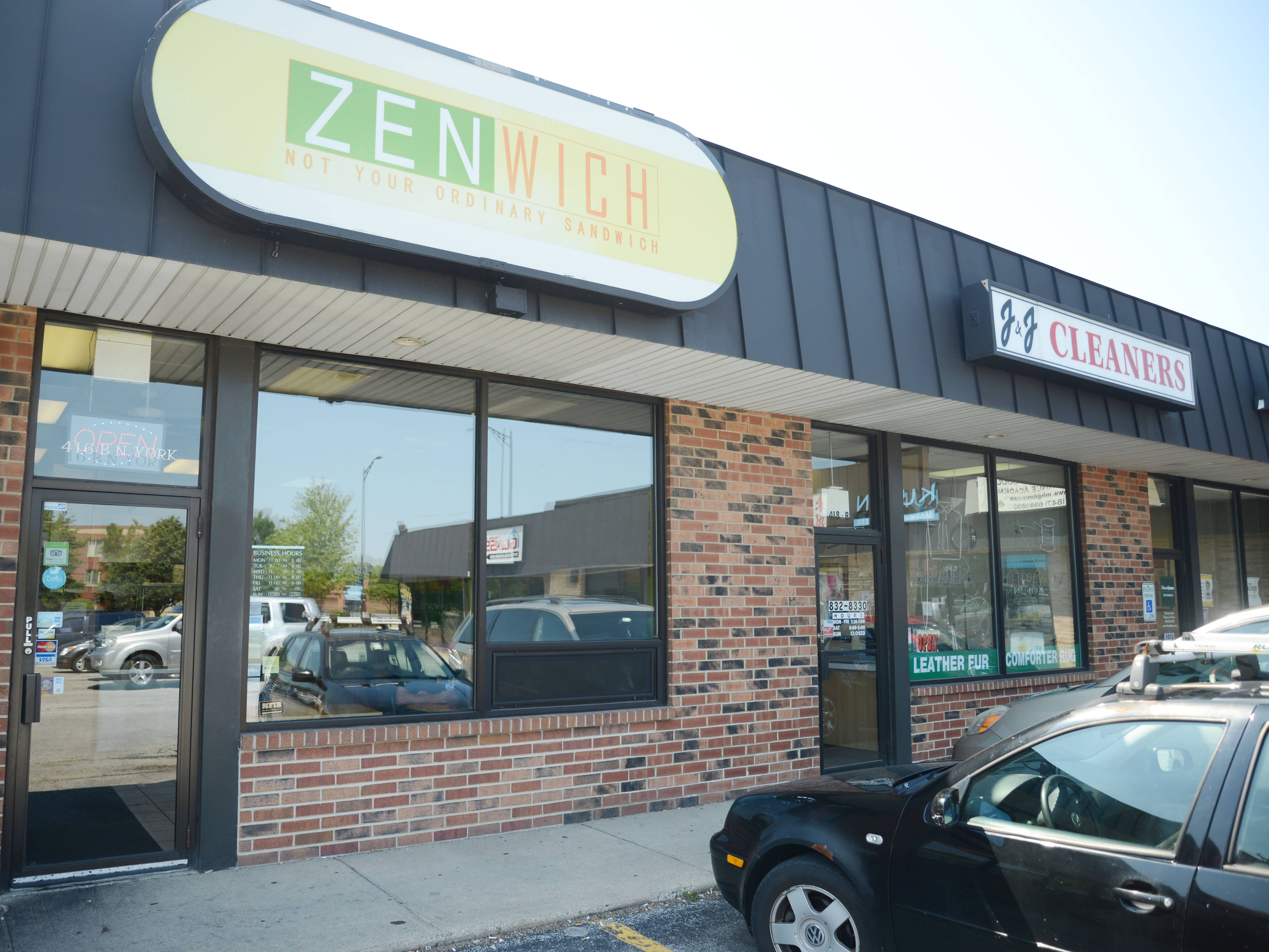 Big, bold, inventive Asian-leaning flavors come from Zenwich, a tiny sandwich shop on Elmhurst's north side.