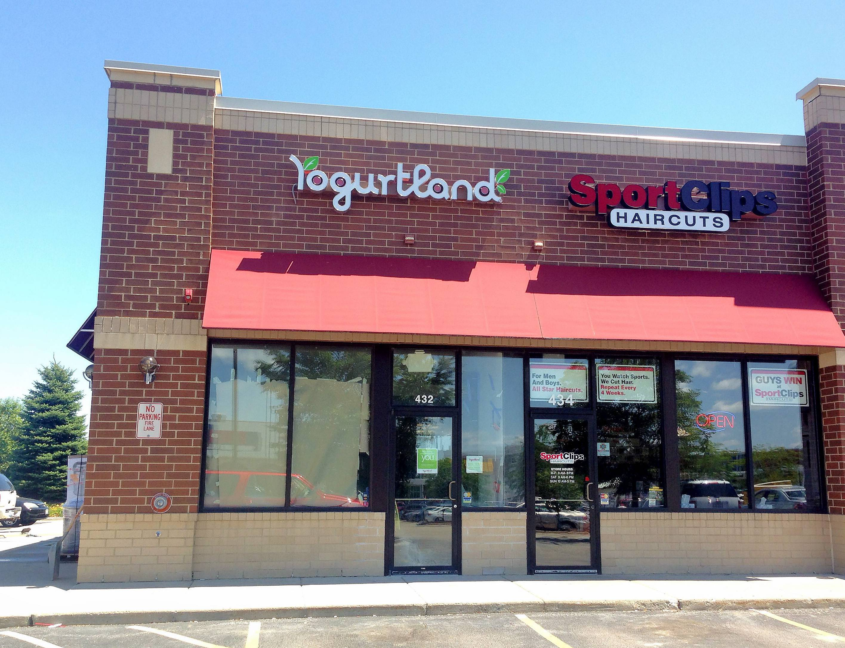 The Yogurtland store at 432 S. Randall Road is scheduled to open later this year in Algonquin.