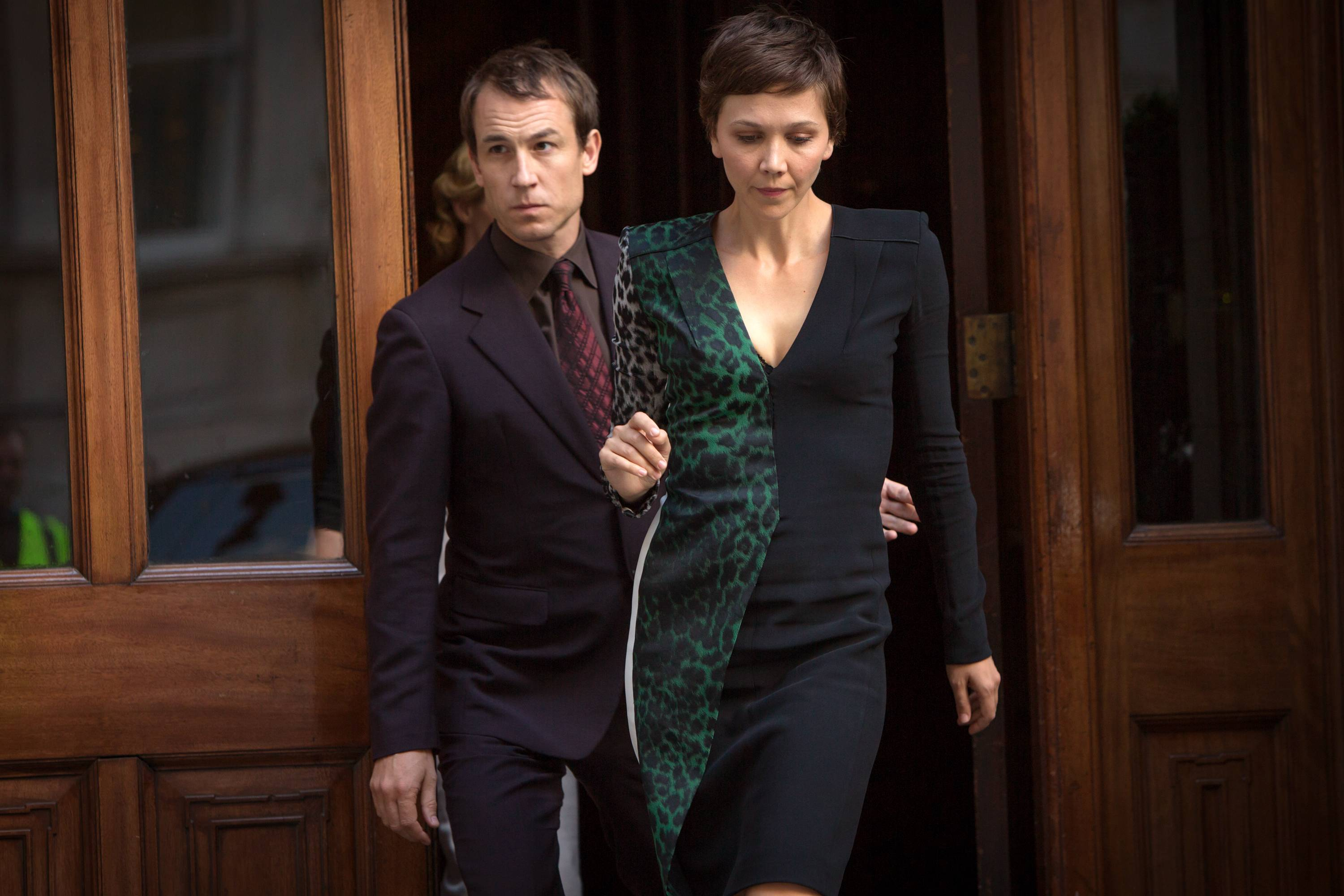 "Tobias Menzies, left, and Maggie Gyllenhaal star in ""The Honorable Woman,"" an eight-hour miniseries premiering at 9 p.m. Thursday on SundanceTV."