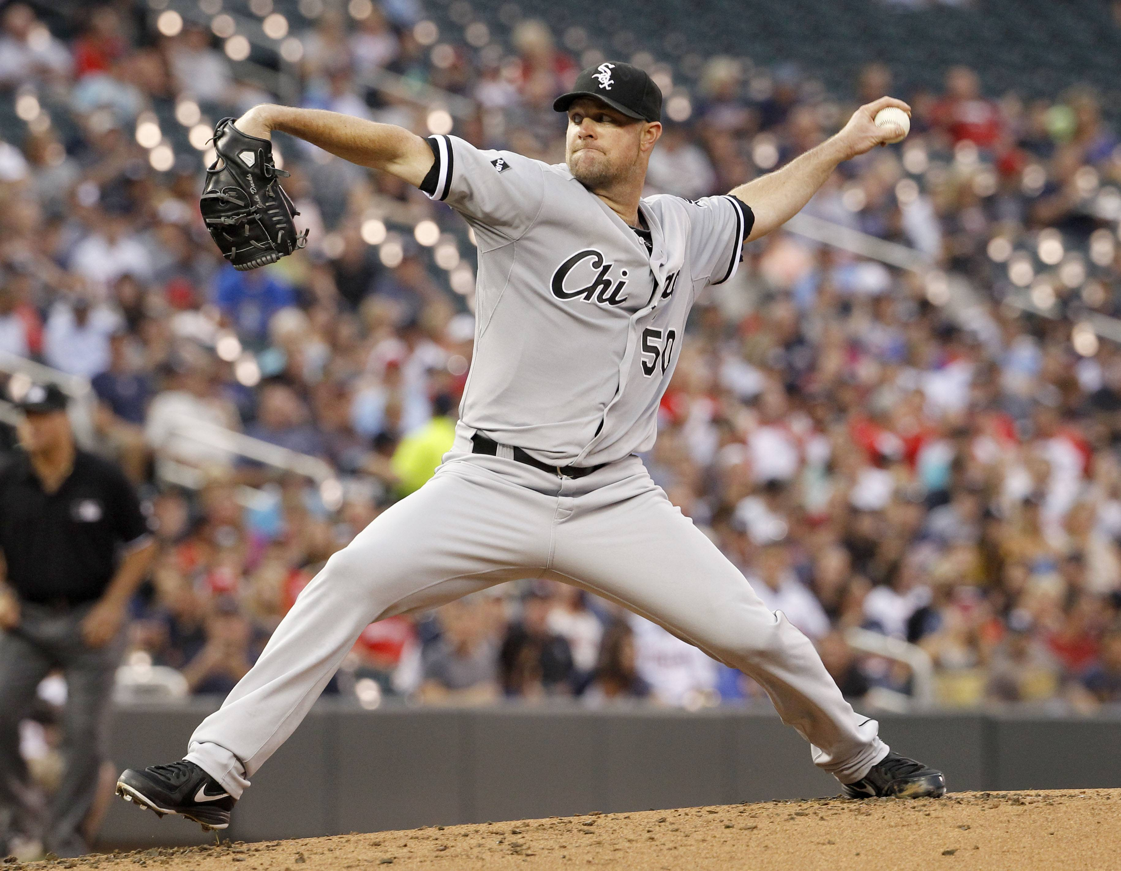 The nonwaiver trade deadline is 3 p.m. Thursday, but the only rumor involving the White Sox has left-handed starting pitcher John Danks possibly going to the New York Yankees or the Miami Marlins.