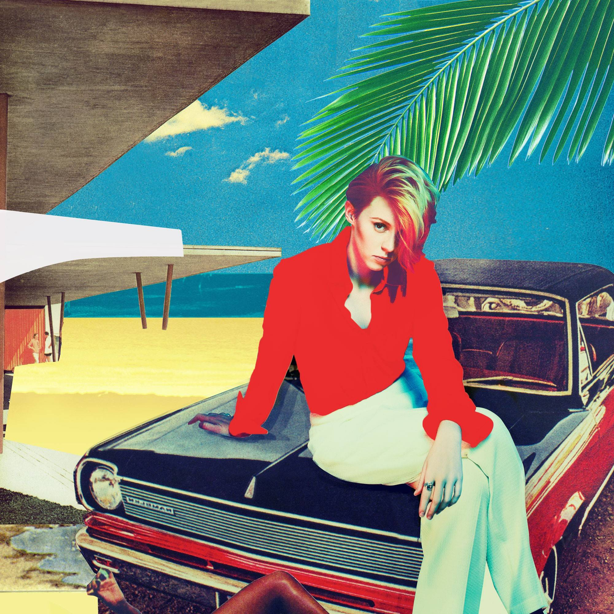 "Synth-pop ""Trouble in Paradise"" is the second album from La Roux."