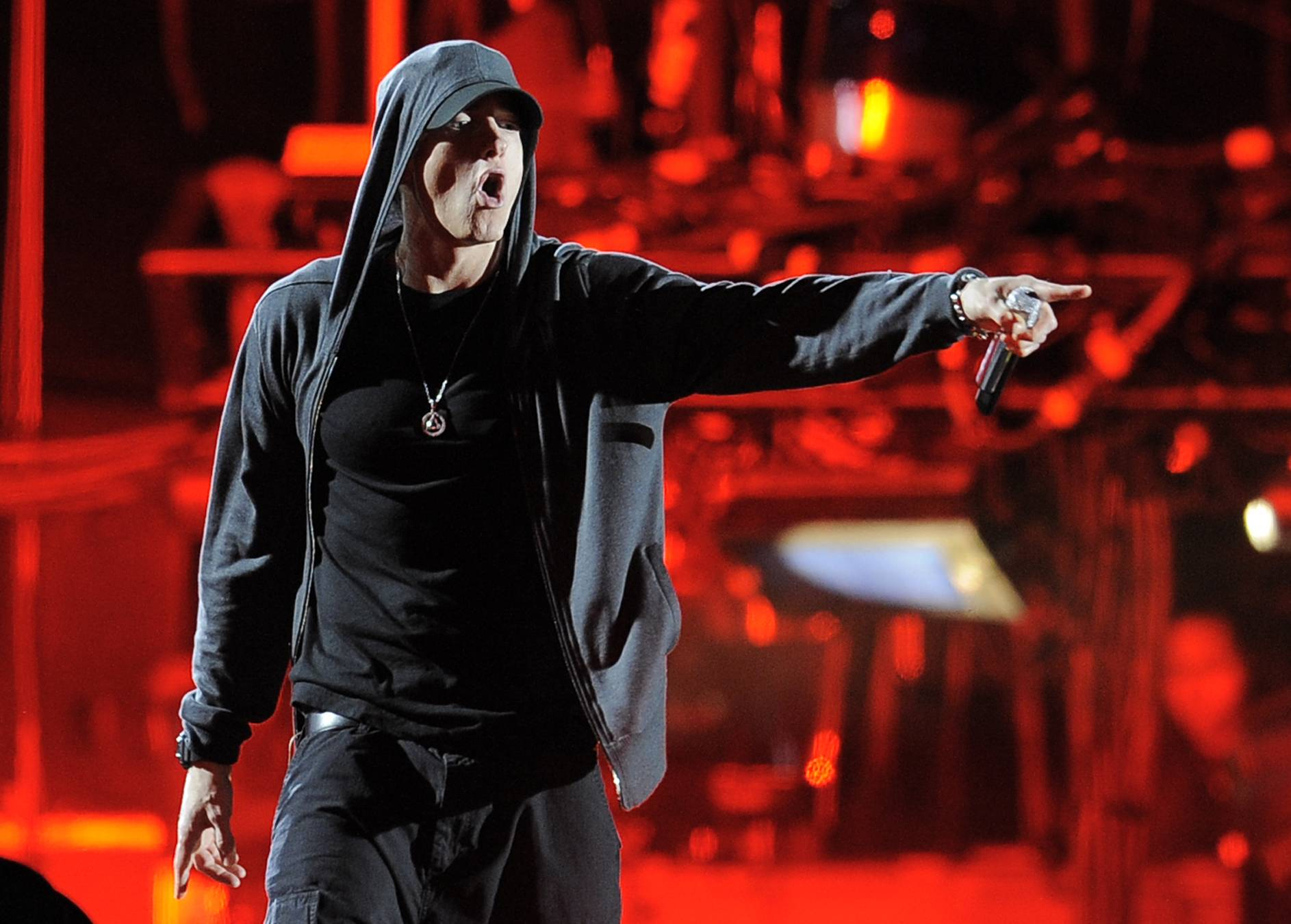 Eminem  will be among those performing at this  year's Lollpalooa.