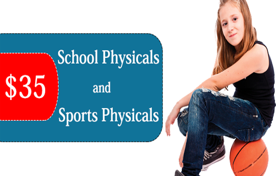Sports and School Physicals for Only $35 at Doctors Immediate Care Inc.