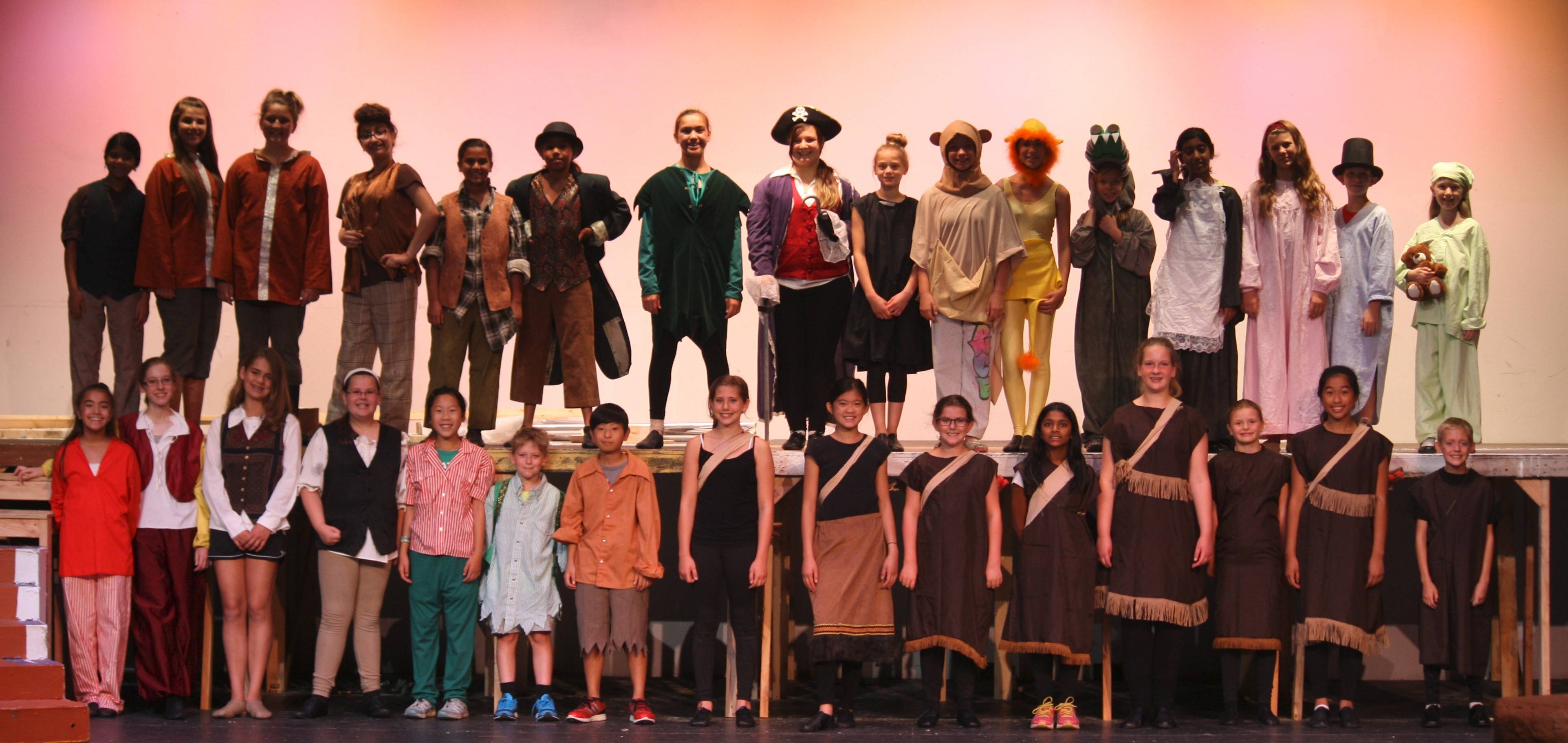 "Palatine Park District's Caught In The Act youth theater program presents ""Peter Pan"" Aug. 1 and 2, at Cutting Hall Performing Arts Center, 250 E. Wood Street, Palatine."