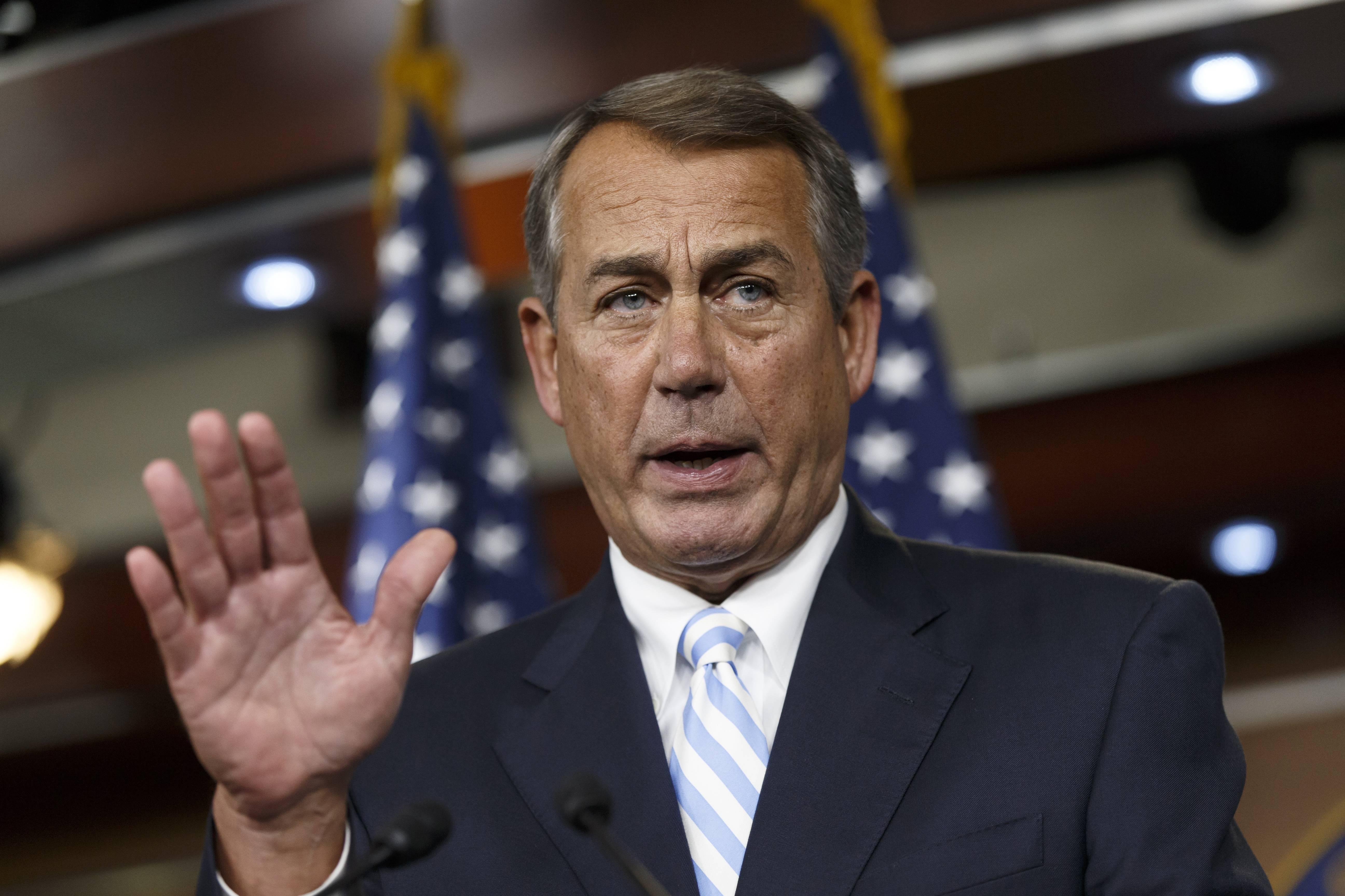 House Speaker John Boehner leads a Republican-majority House that has often been gridlocked with the Democratic-controlled Senate and White House. Congress, still having major unresolved issues, leaves for a five-week summer vacation this week.