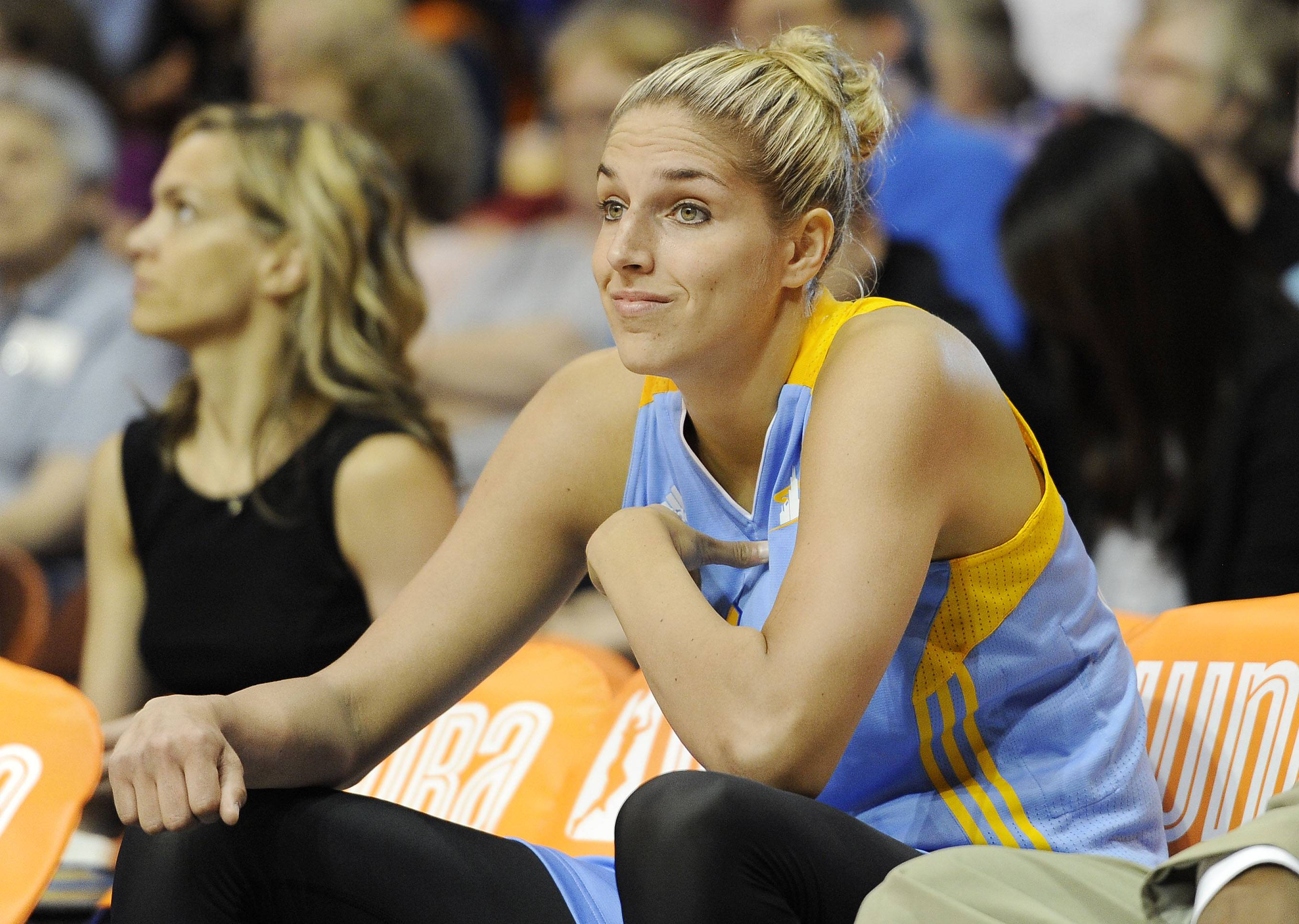 The Sky's Elena Delle Donne could return for Thursday night's game against New York at the Allstate Arena.