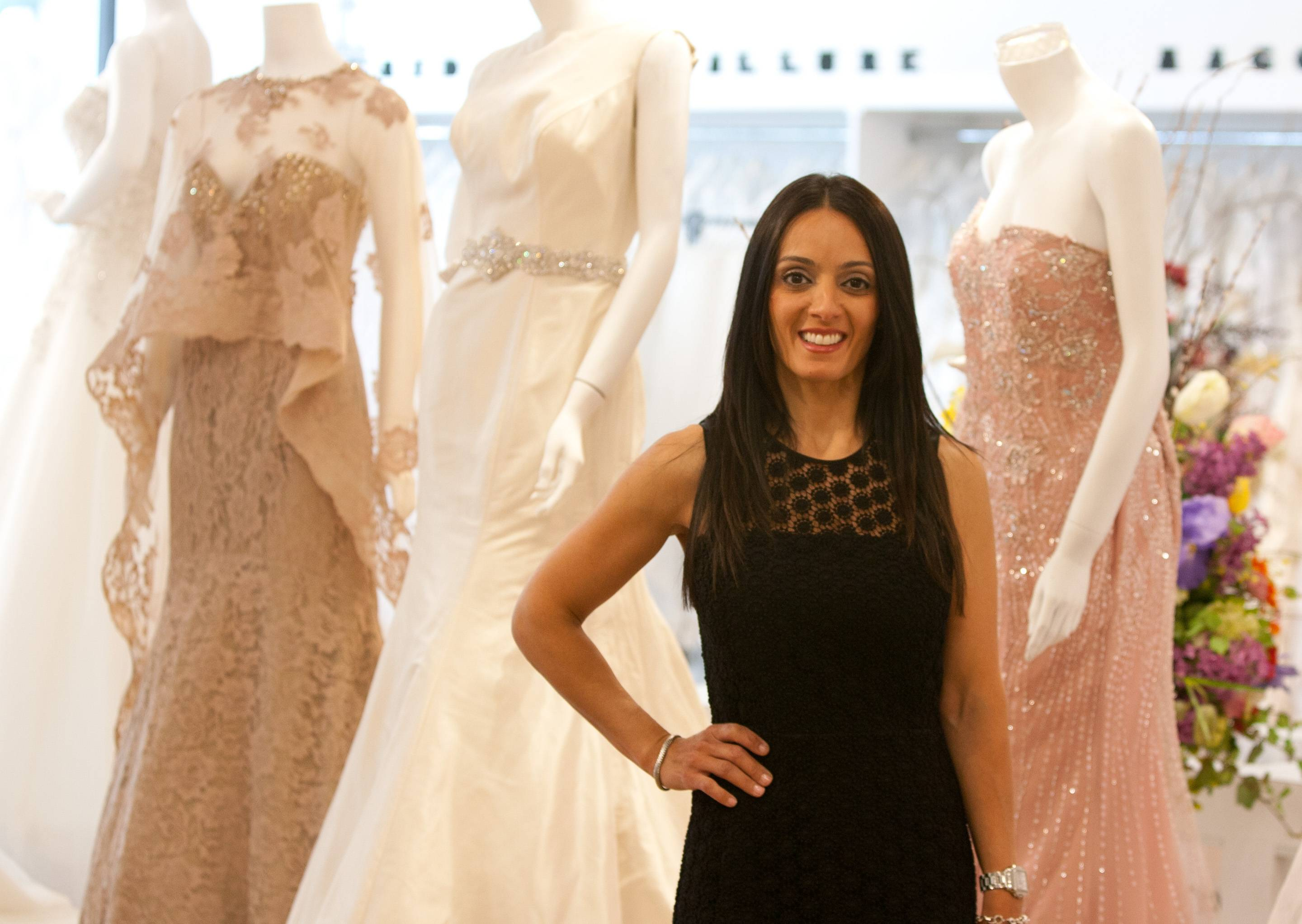 "Sue Zanayed-Cerulli, owner of Bri'Zan Couture in Naperville, says the store moved to a strip mall on Washington Street just south of Ogden Avenue, even though it ""needed a facelift"" because the business needed more space."