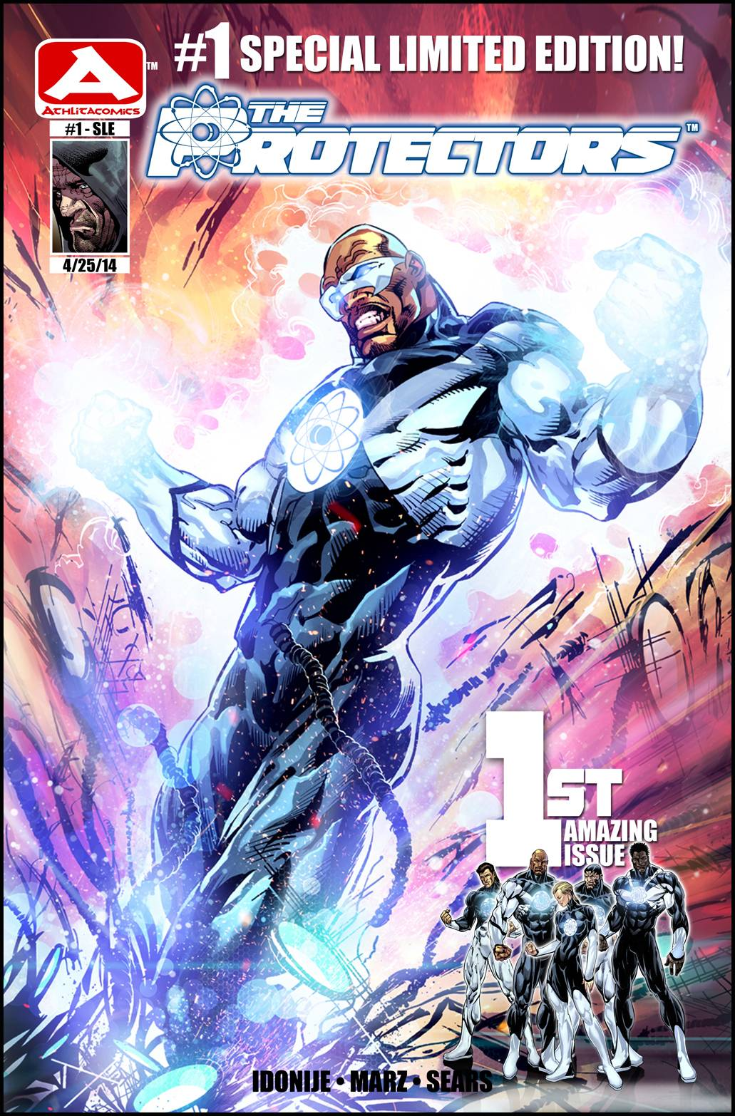 Cover of The ProtectorsAthlitacomics