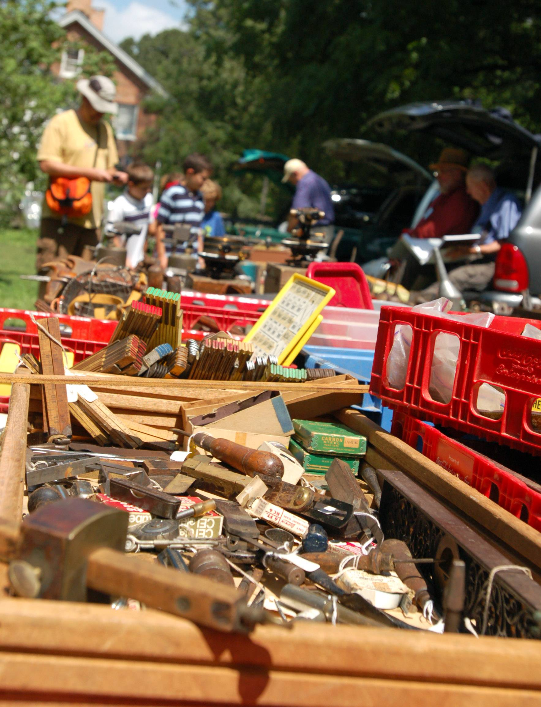 Thirty different collectors and vendors will have tools on display and for sale during the annual Antique Tool Show and Sale at Garfield Farm on Sunday, Aug. 3.