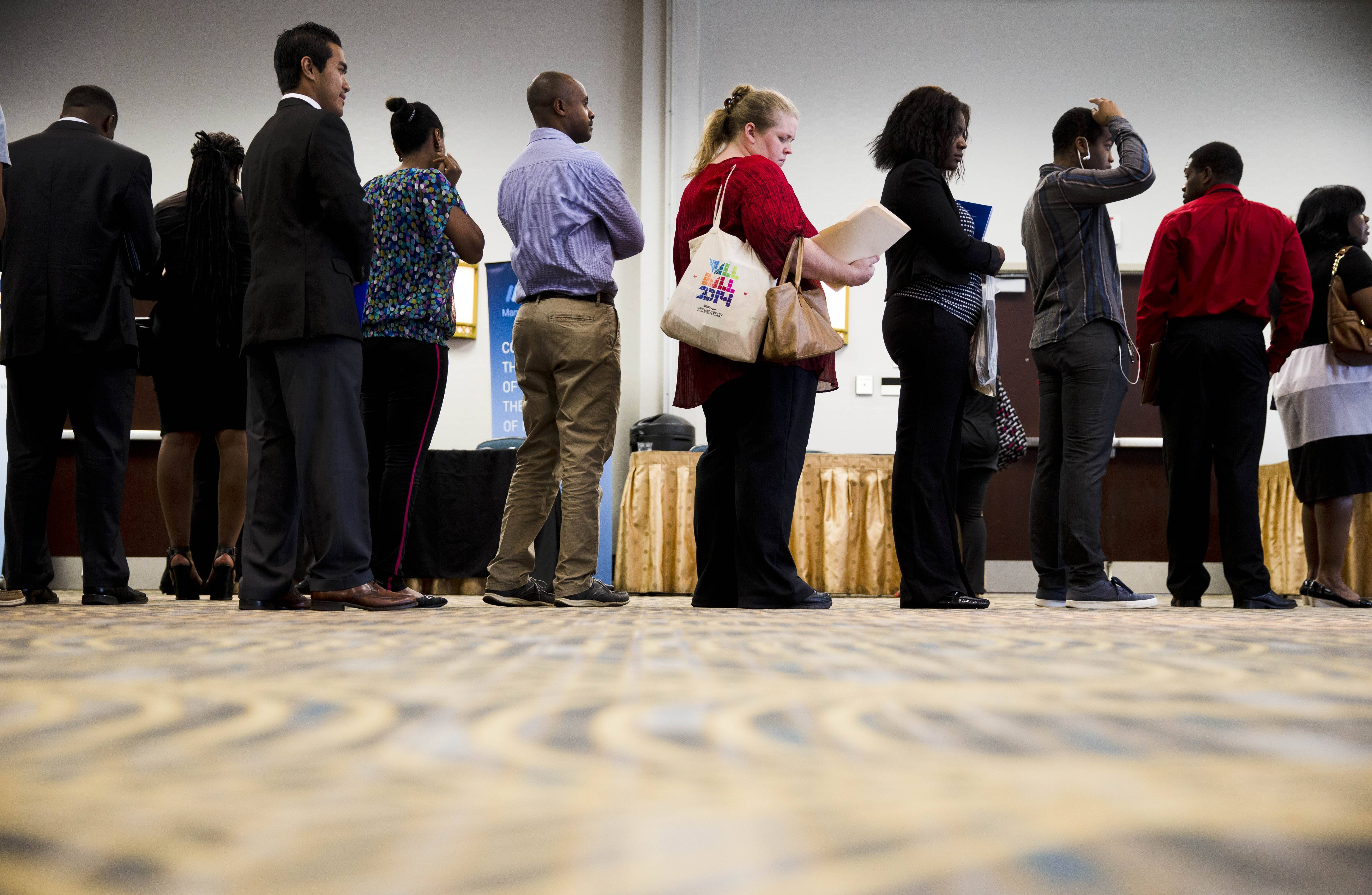 U.S. employers extended their solid hiring into July by adding 209,000 jobs. It was the sixth straight month of job growth above 200,000, evidence that businesses are gradually shedding the caution that had marked the 5-year-old recovery.