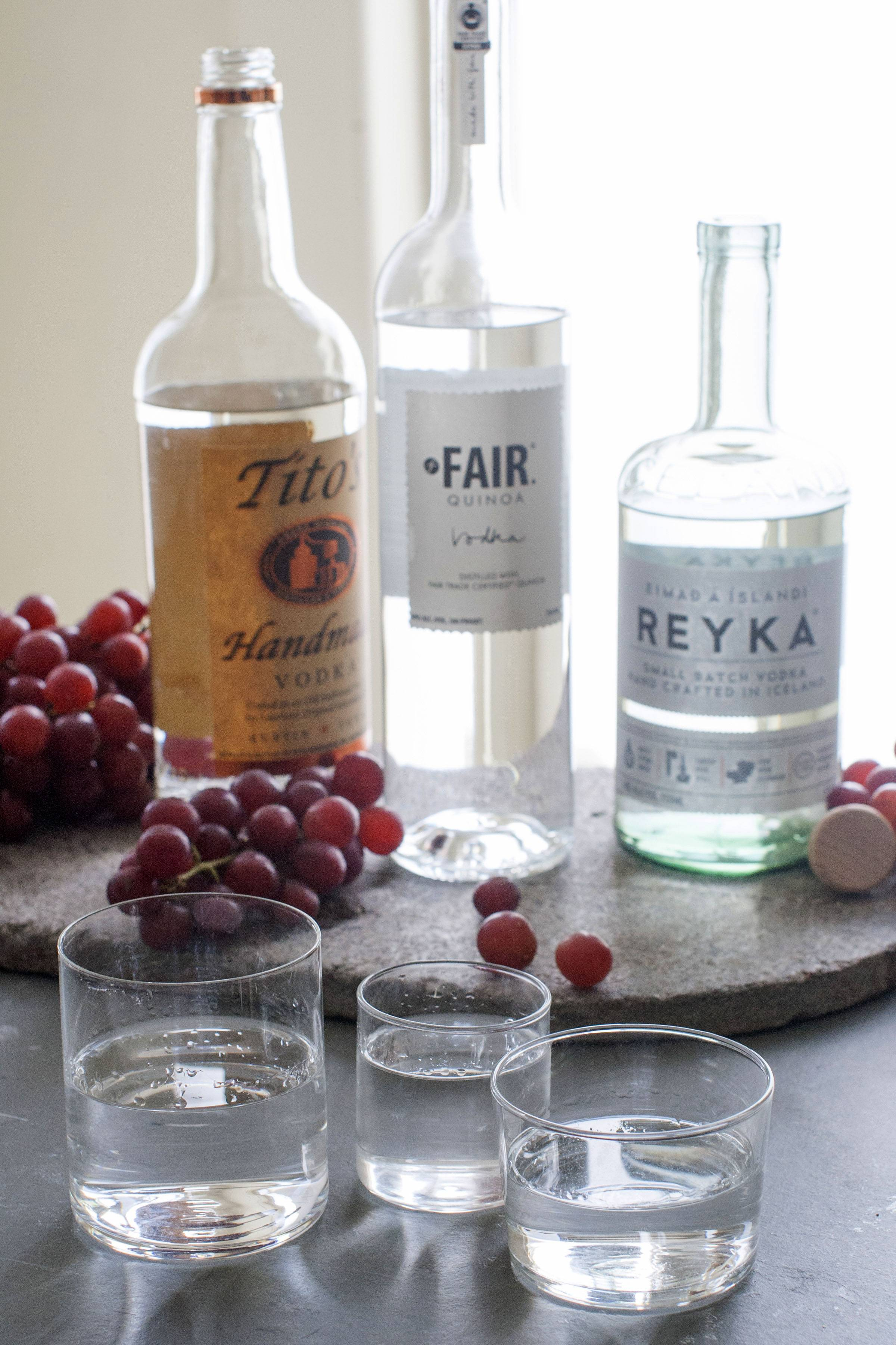 Flavored vodkas aren't going away, but many premium brands are focusing on vodkas that taste like vodka.